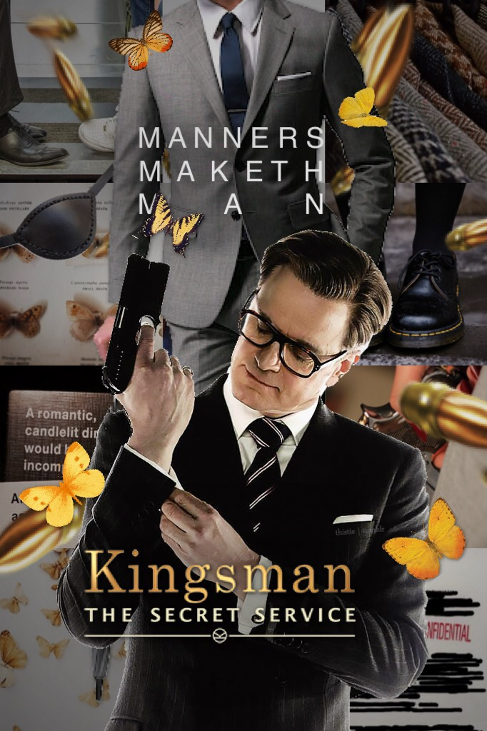 kingsman: the golden circle—the BEST MOVIE I'VE SEEN THIS YEAR—IT WAS BETTER THAN THE FIRST ONE AND OML I DIED I LOVED IT SM. anyhoo, have a frantastic monday, kids; love ya 😚🌼