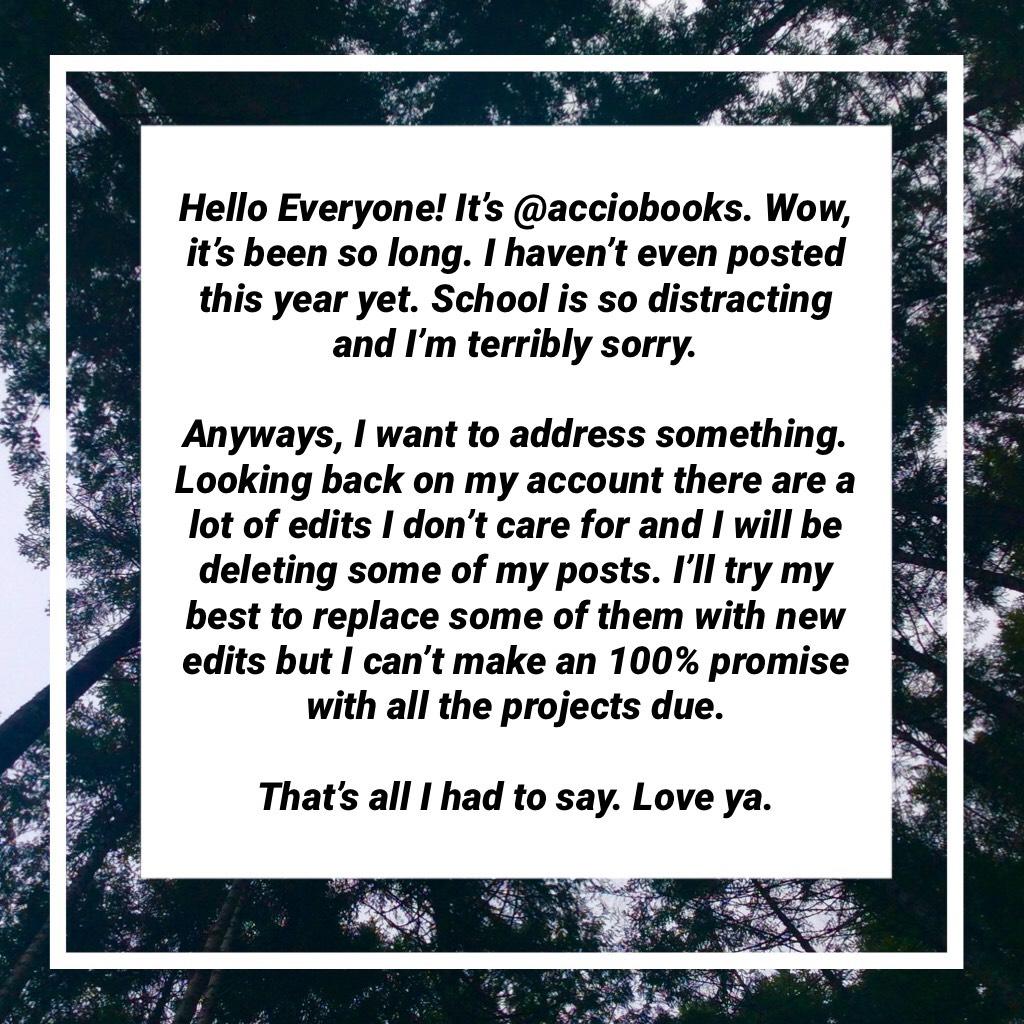I hope you all are having a wonderful 2018 so far✨
