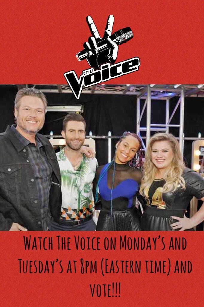 The Voice!🎤