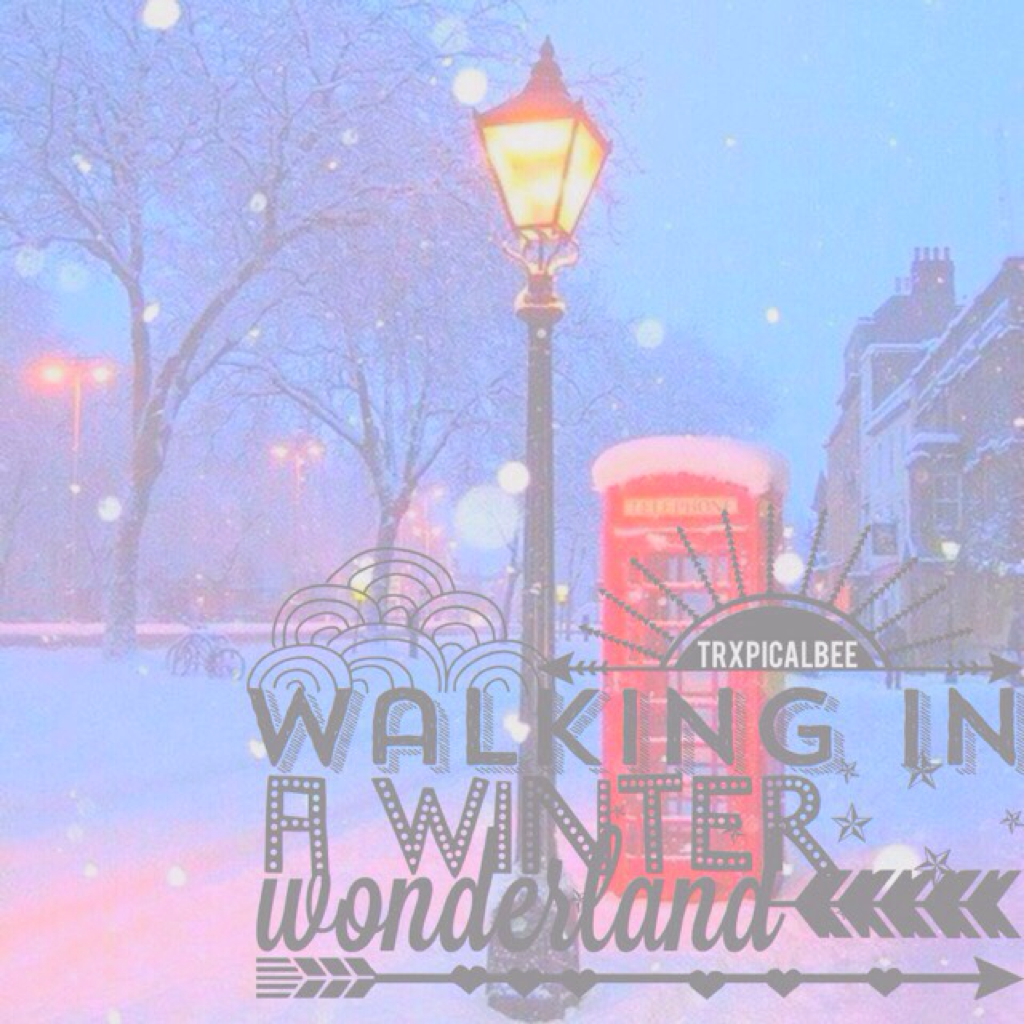(11.28.16) 💓  A remake of one of my old edits! ☕️ Follow @BlastinqOreos! 🙈 So excited for Christmas! ⭐️  Pop Page? 🎿