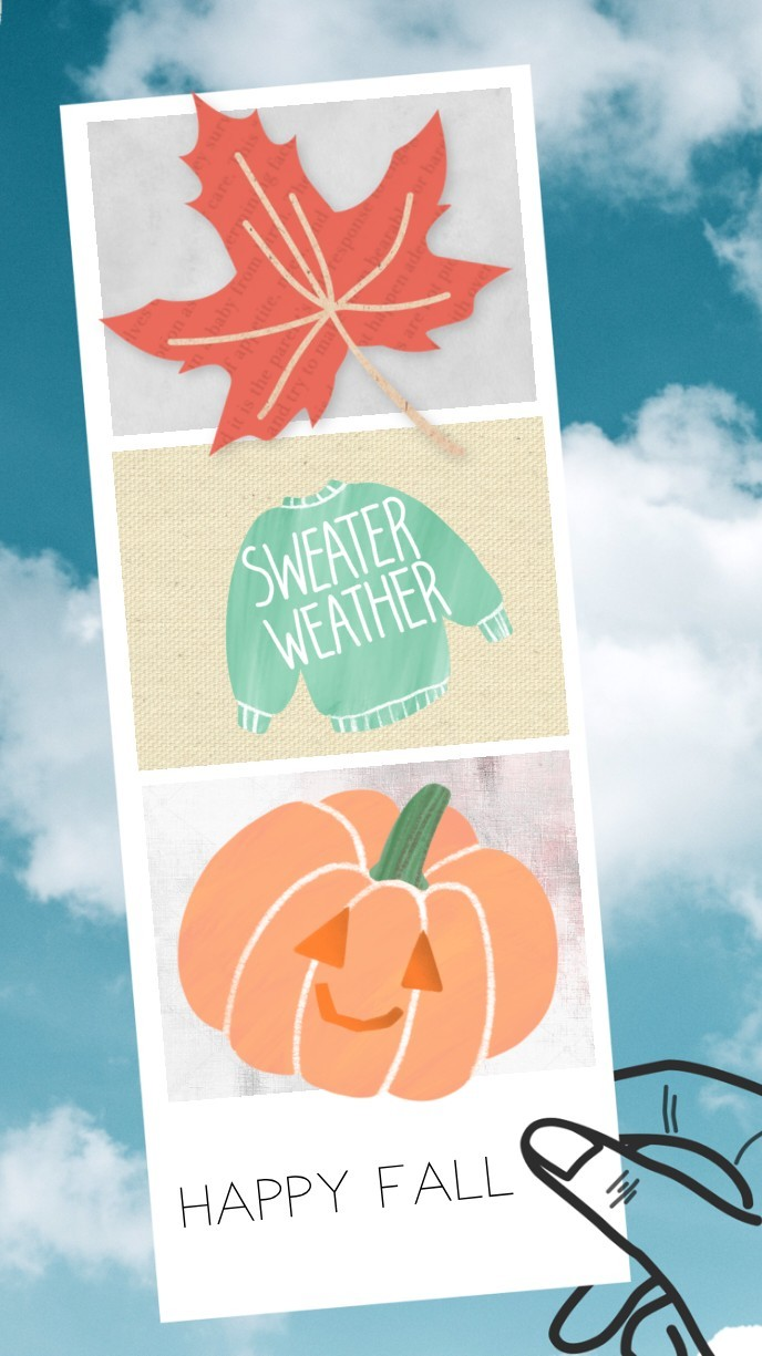 happy fall everyone! Have an amazing day and don't forget to tap <33