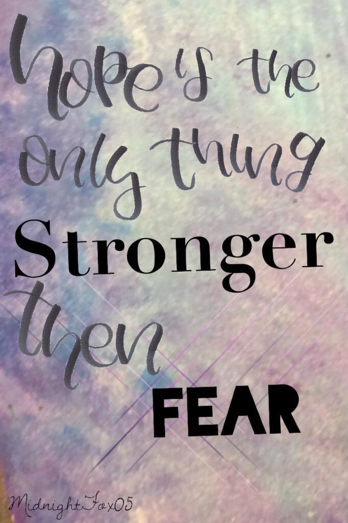 #Strongerthenfear