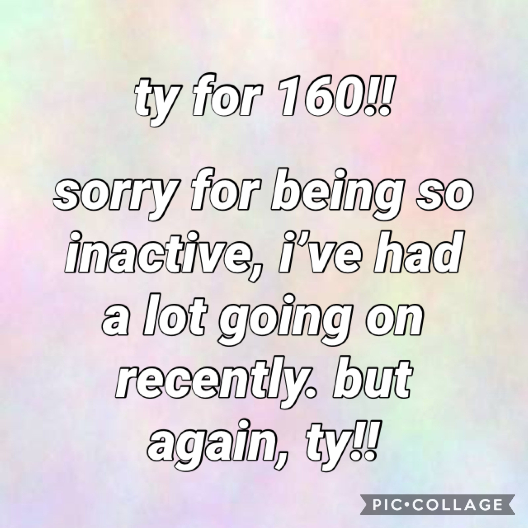 ty for 160!
