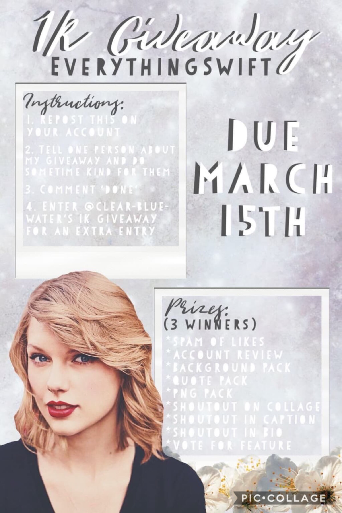 EverythingSwift's 1K giveaway!!