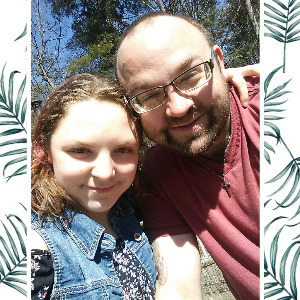 me and my dad during Easter  I am daddys little girl