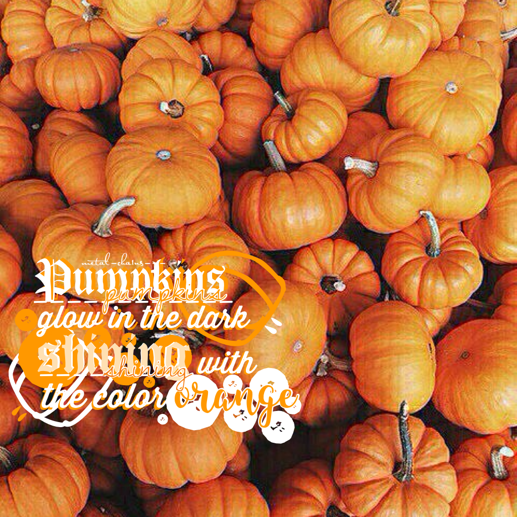 Sorry I haven't posted my own edit for a while! Or at least I think😂😋! This was an entry to The_Official_Games! GO TEAM PUMPKIN!!!🎃 So close to 1k(Giveaway)