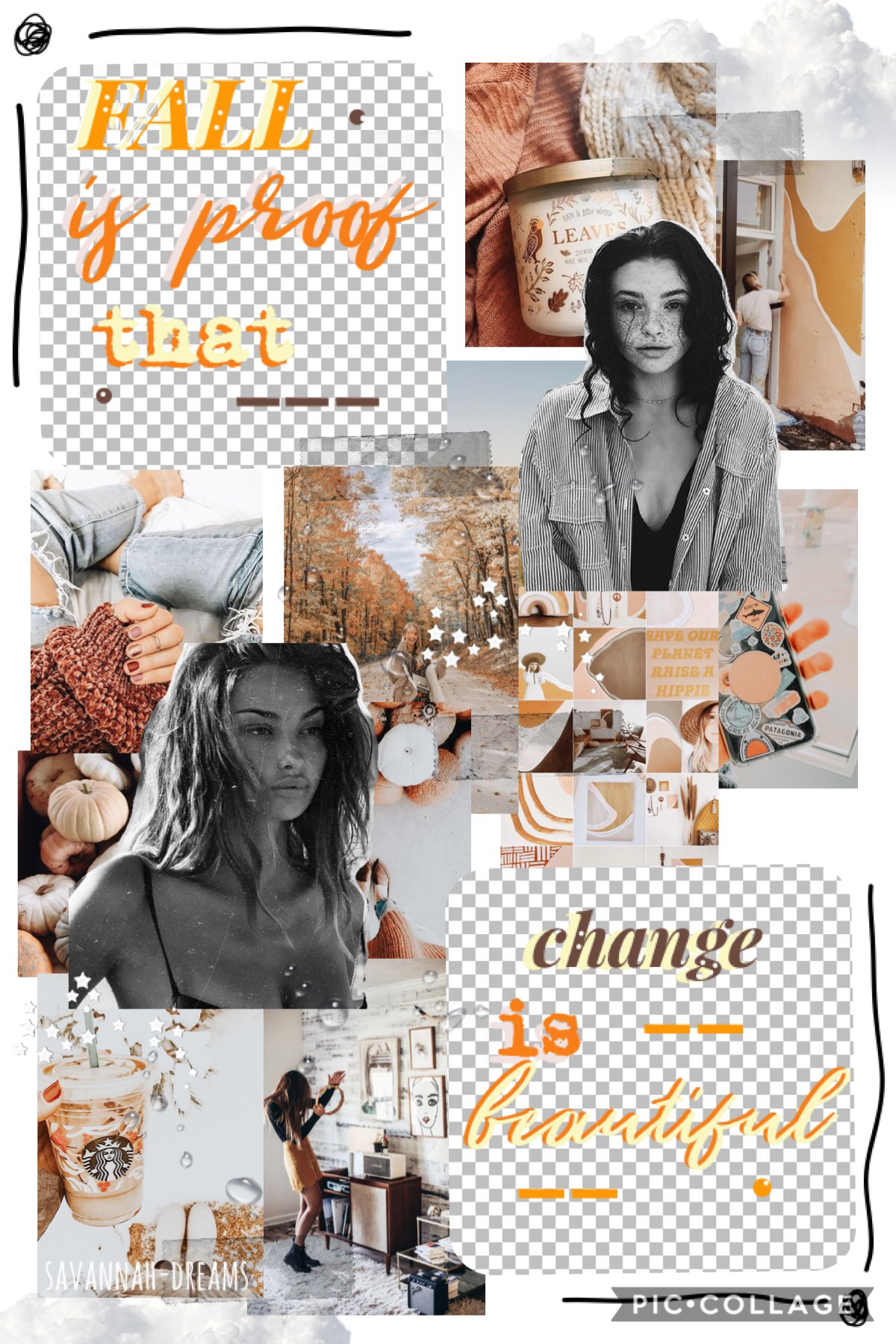 eee it's spooky szn 🍊💨 oop not here in australia but oh well, i'll celebrate anyhow, lol 😂 tysm for 1.4 K 👏🏼 whoop whoop 🌿 entry to a fall contest > love the bg but I'm not so sure 'bout the text... 🍡