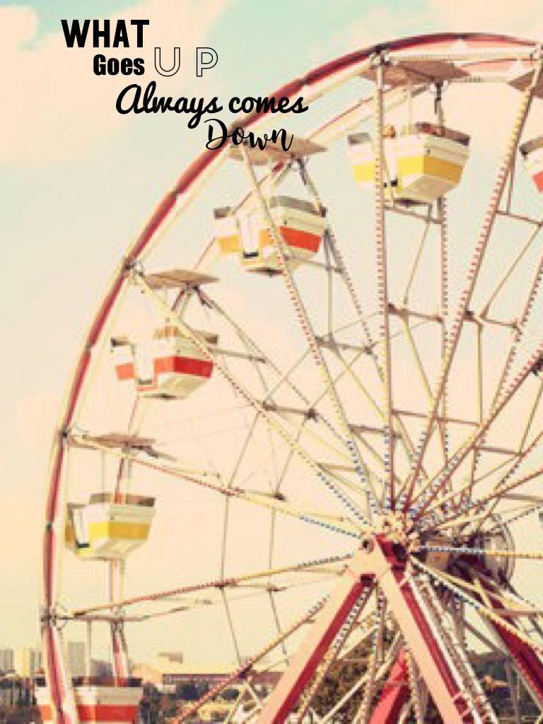 I love Ferris's wheels, do you