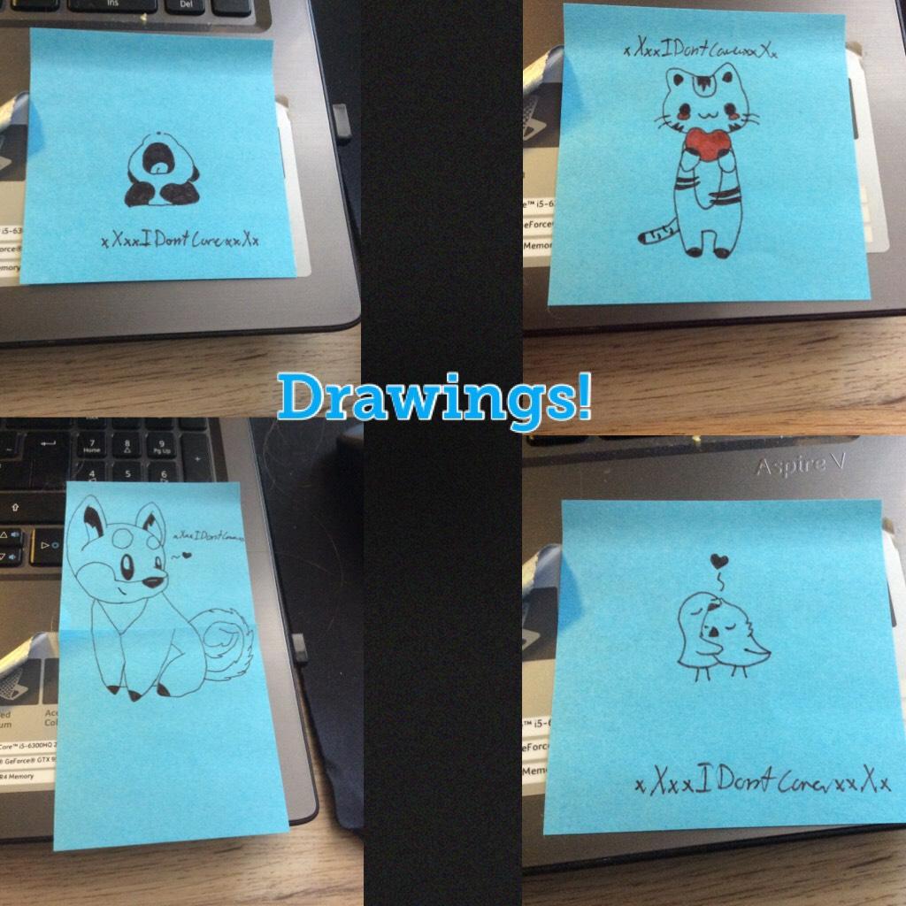Small drawings!
