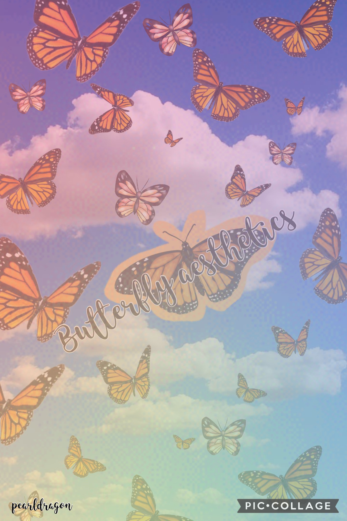 🦋tap🦋 Hi guys I just wanted to do something aesthetically... I think that's the right word? Like or comment if you want me to do more! - Pearl