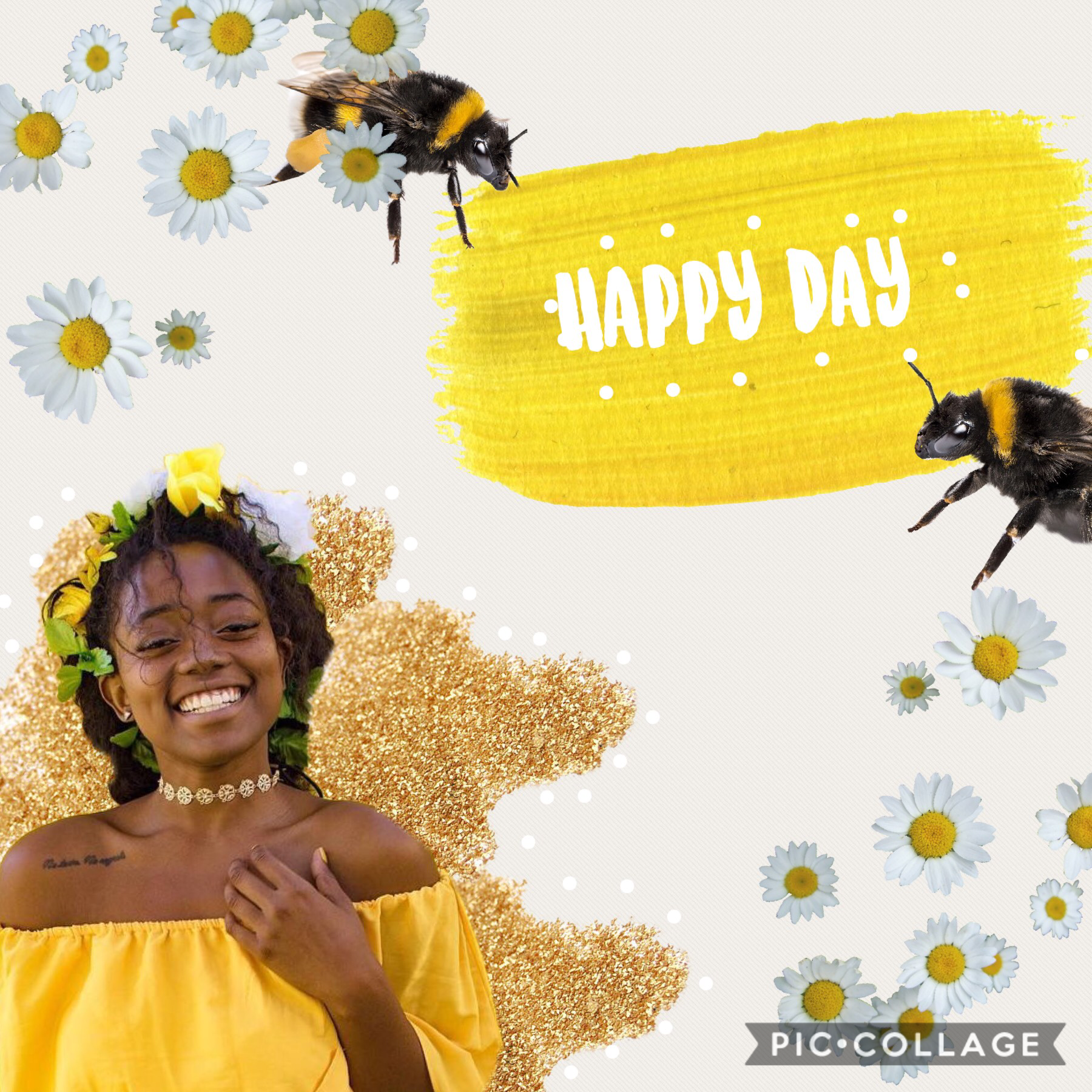 💛hApPy dAy 💛  Some more followers would make my day happy 😂