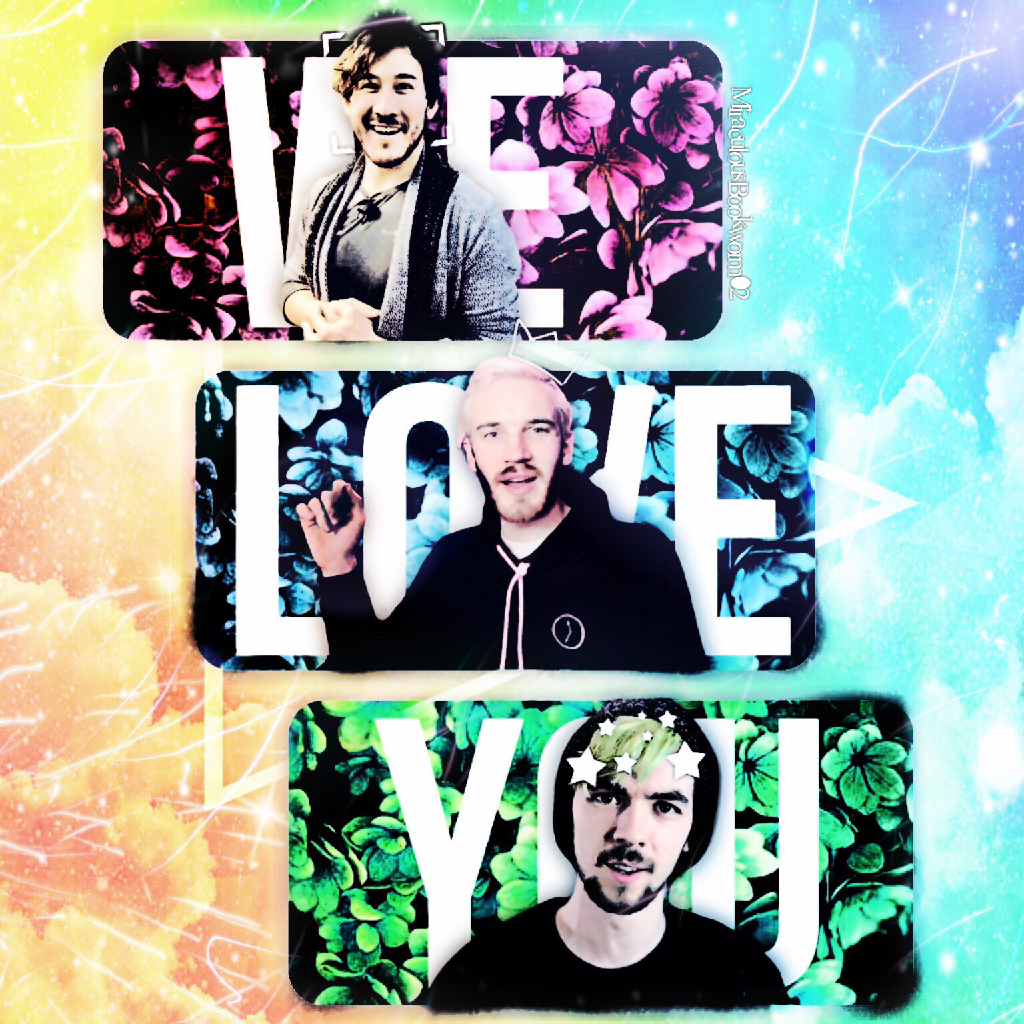Markiplier, PewDiePie and Jacksepticeye edit (PAX East is happening! AHHH I WISH I WAS THERE!)