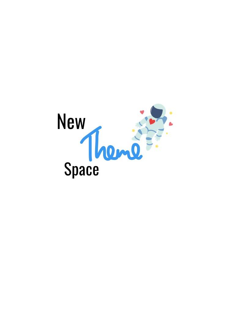 New theme 🌌