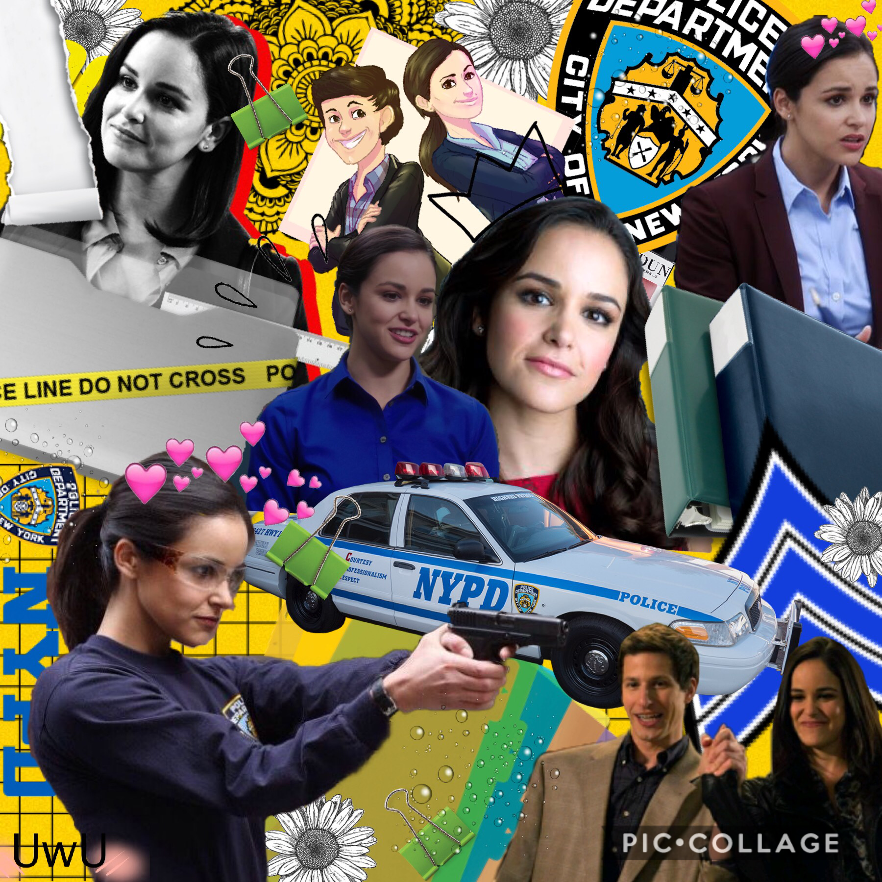 💛Tap🚓 911, someone stole my UwU's, I suspect Melissa Fumero... 💛  I rlly hate this😣