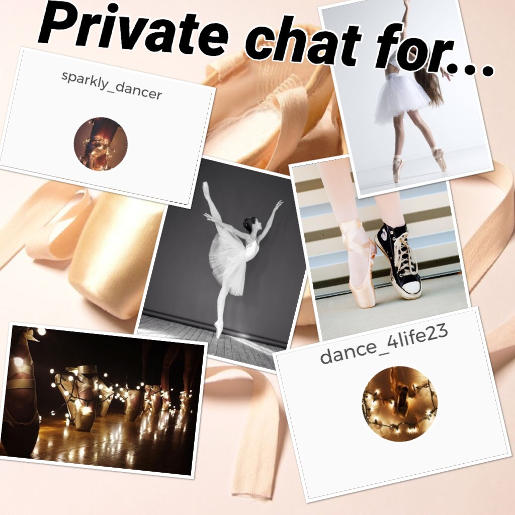 Private chat for...