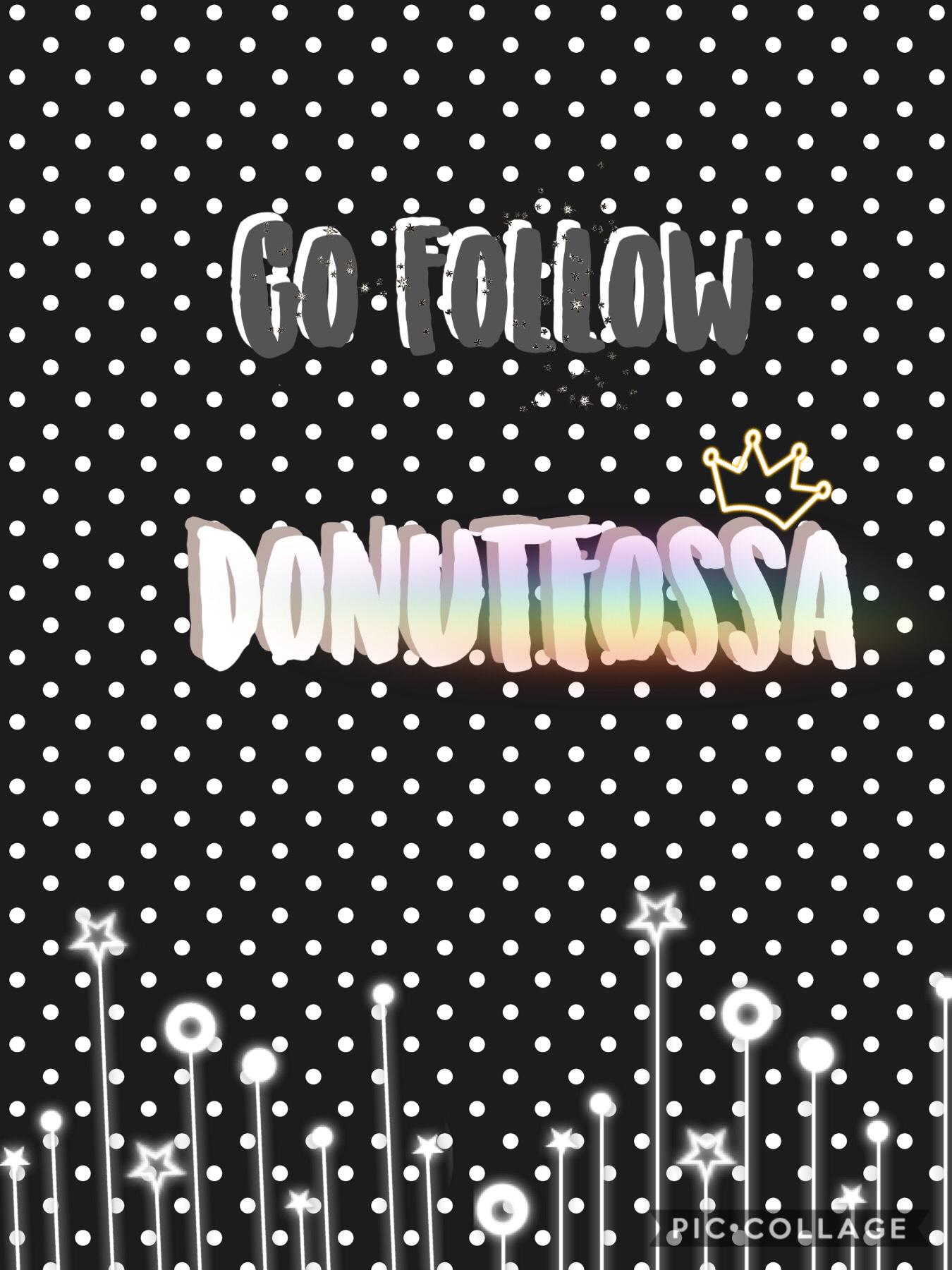 Go follow the amazing... DonutFossa