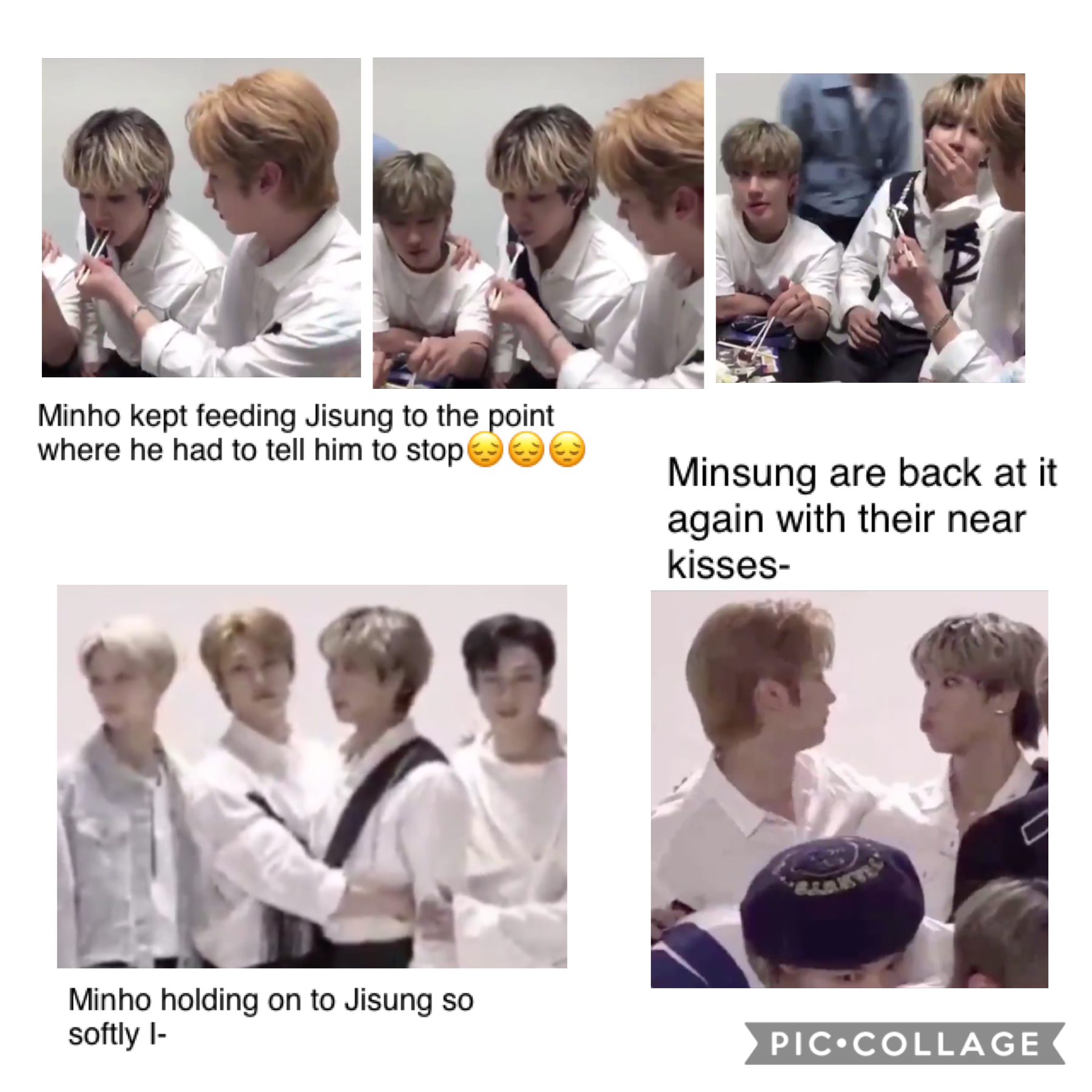 This live was had Minsung written all over it I-😔😔