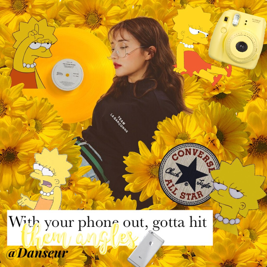💛Tap💛 DIS IS RATCHET! Anyway slightly inspired by @kittylovelauren but of course she's 100000000✖️ better 😂. Peep the Lisa Simpson PNG's, my idol, lol! Rate 1-10! Lyrics: Nice for what- Drake (my Canadian baby!)  Bye -Danseur ❤️ 16/5/18