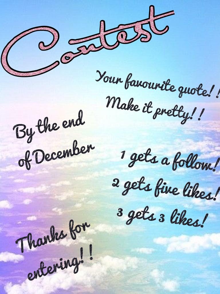 Contest!!!