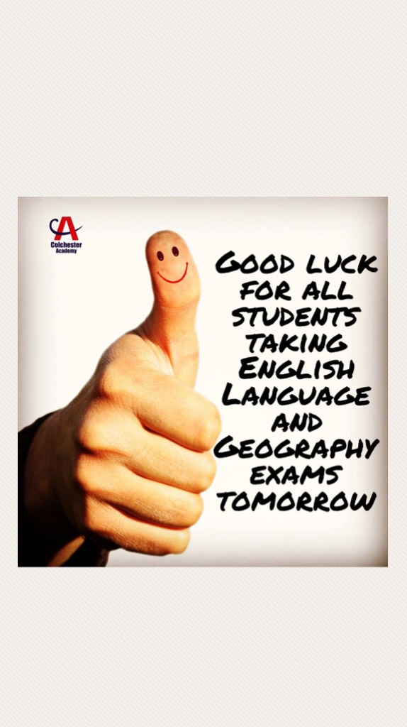Two more exams tomorrow. Best of luck everybody #success #GCSEs #youcandoit #webelieveinyou