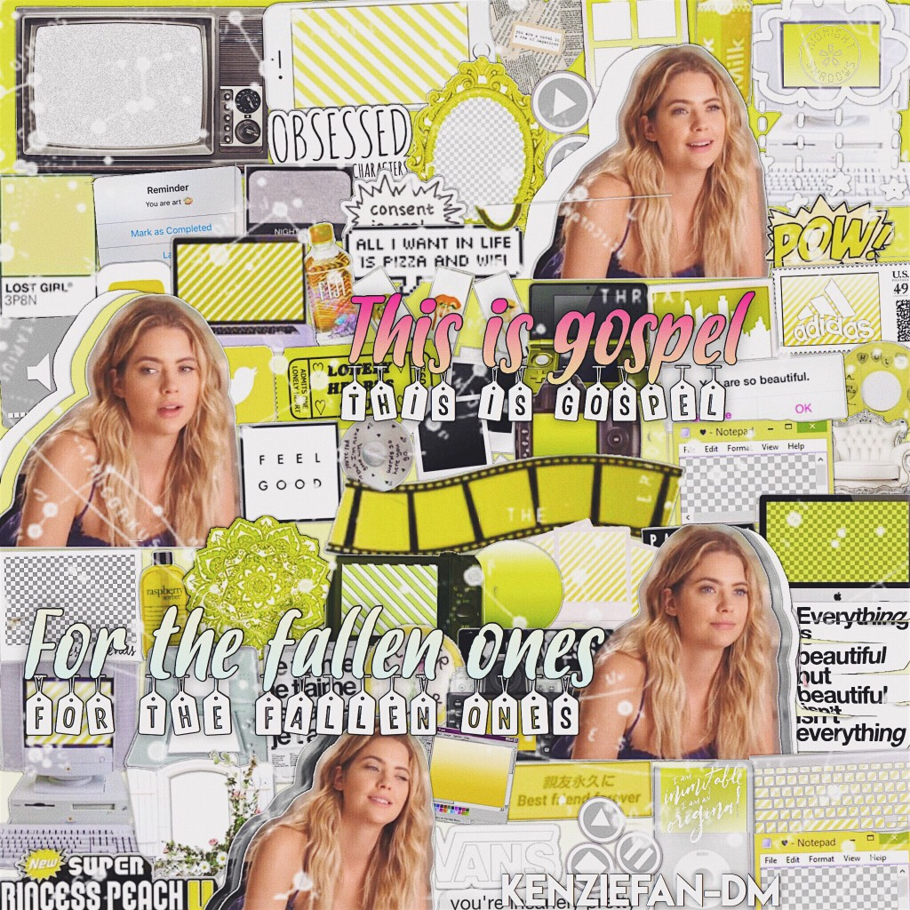 Click emoji 😴                  Edit of Ashley Benson hope you guys like it. I actually like it. RATE 1//10 and get this to 20 likes for next post. If you want to collab comment. Next edit of Aspyn maybe.