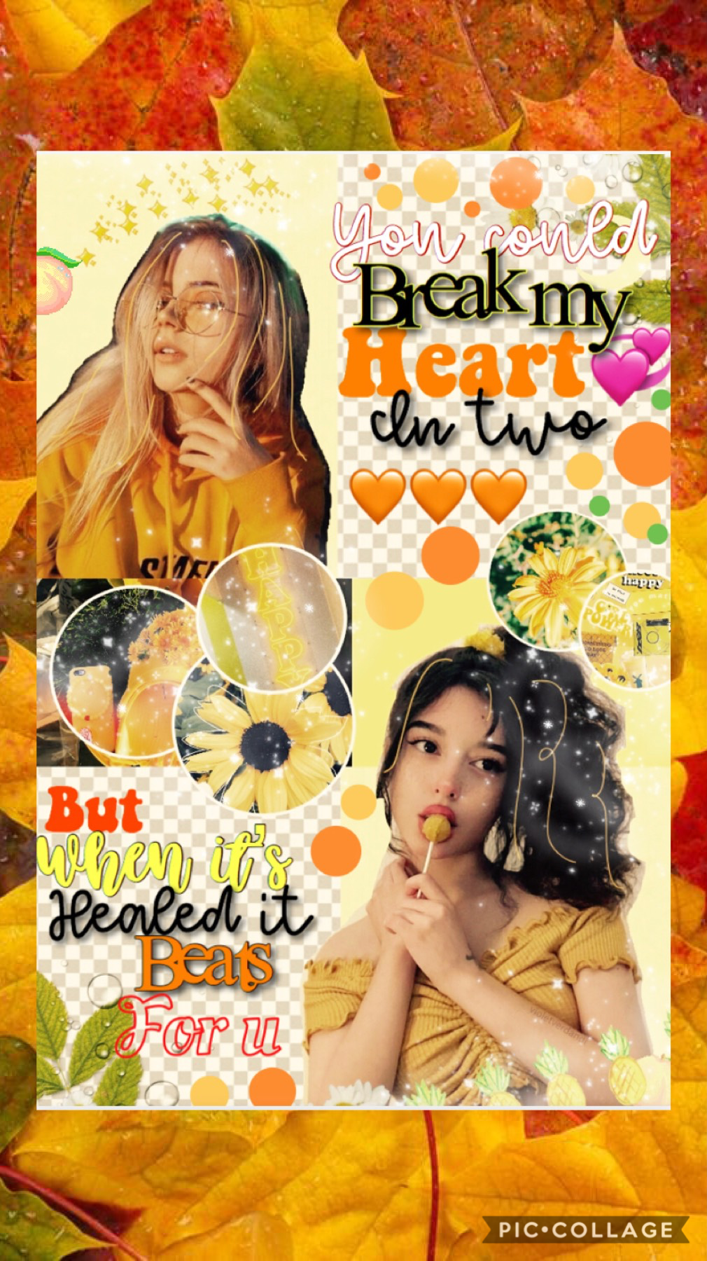 🍂Tap🍂  Sorry for the weird layout! Entry to Madihah456 contest❤️💞 Happy Fall!🎃🍂
