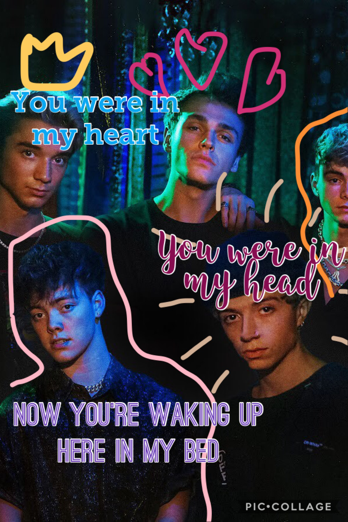 Tap   Loveeee the wdw boys What's the name of this song? It's my fav wdw song.  QOTD: fav wdw boy  AOTD: Corbyn or Jonah❤️