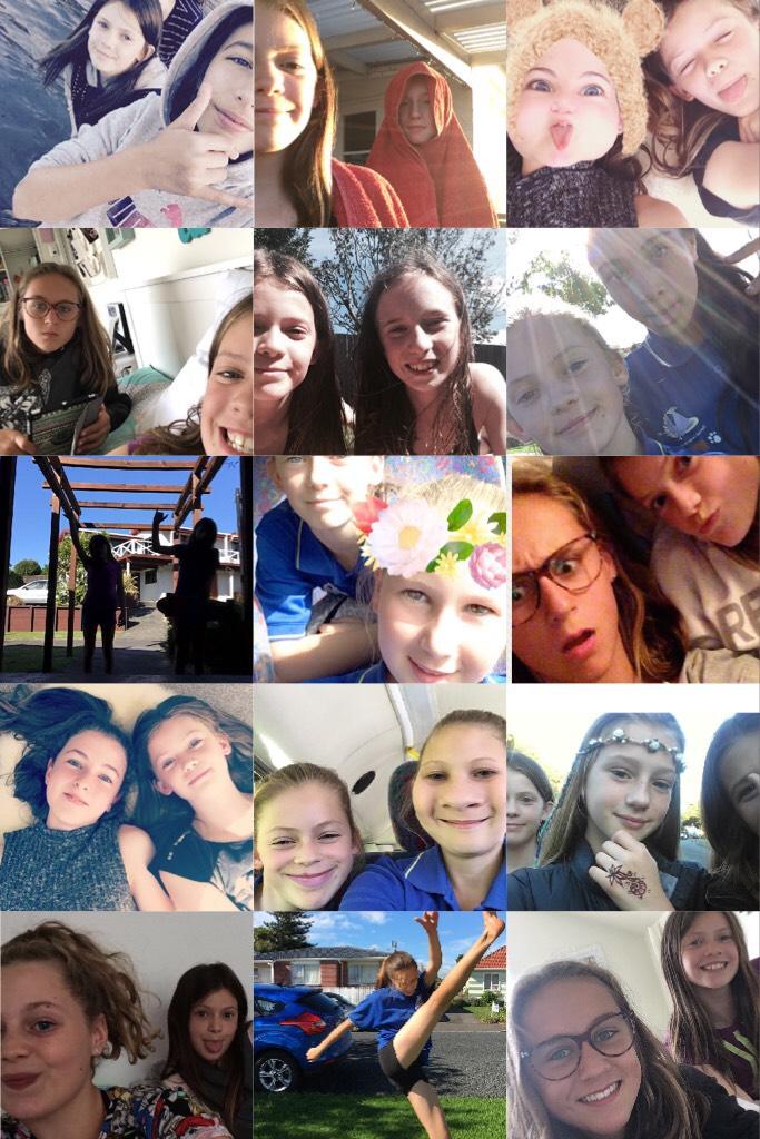 Love all my friends alot❤️ Bonnie❤️ Maree❤️ Bridgette❤️ Freyja❤️ Ellie b❤️ Jessica p❤️ Nicole❤️ Shakira❤️ Ellie m❤️ Caris❤️