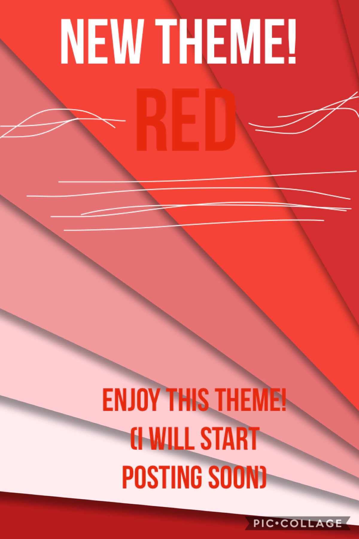 New theme!    Red!