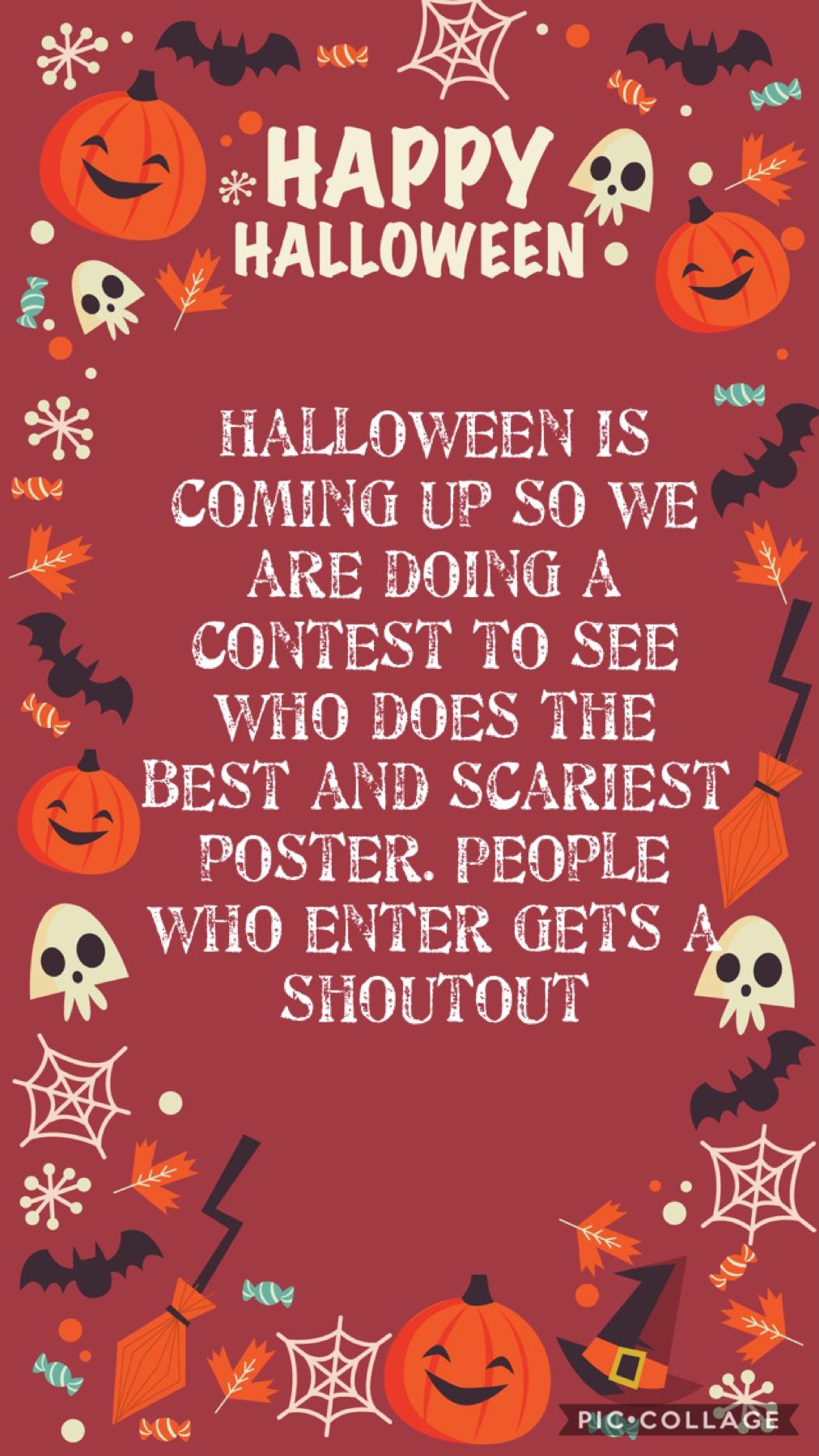 Halloween contest!!
