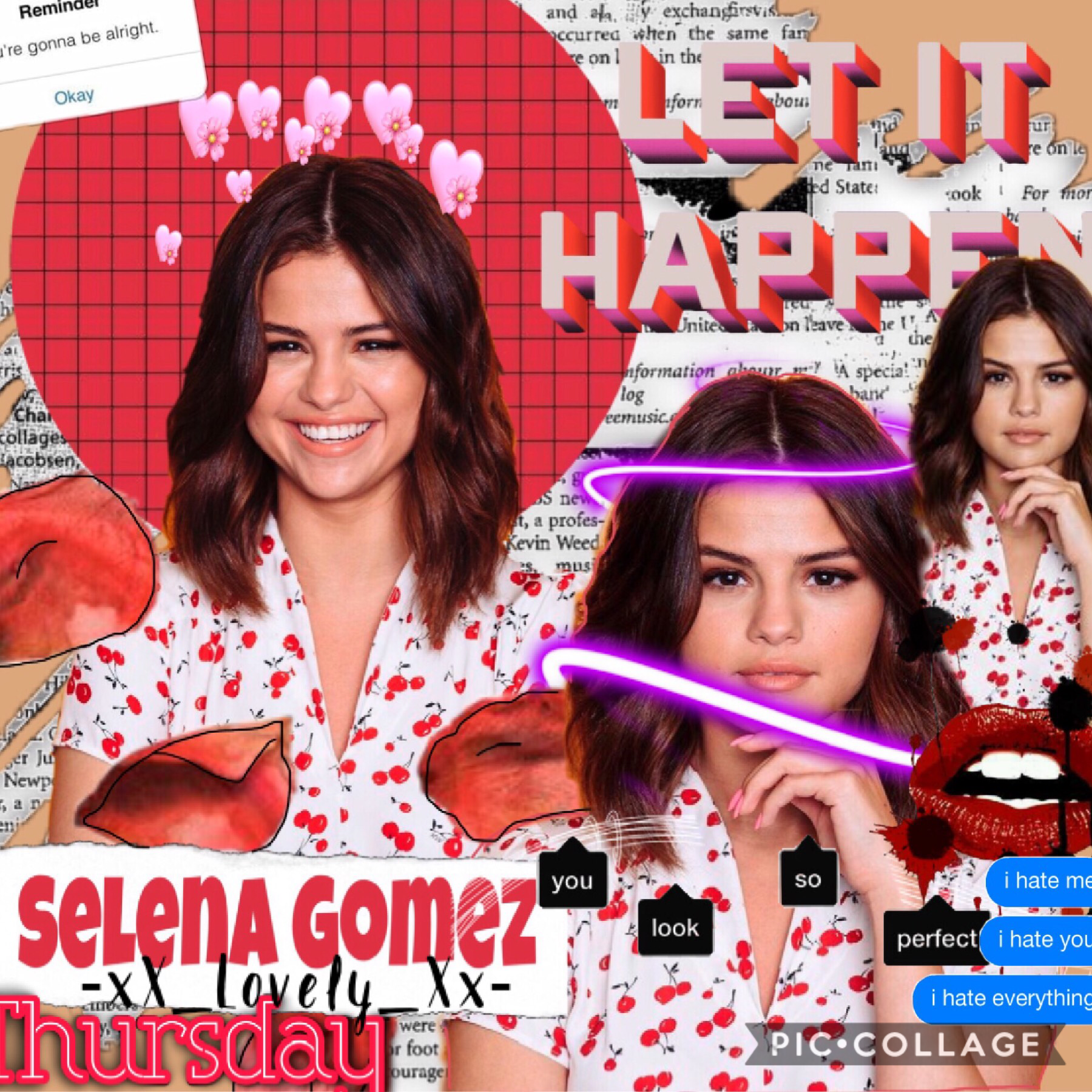 ❤️Tap❤️ Here is a Selena edit!!! I know it looks ugly especially compared to the one I posted before this but I thought y'all deserve to see it.