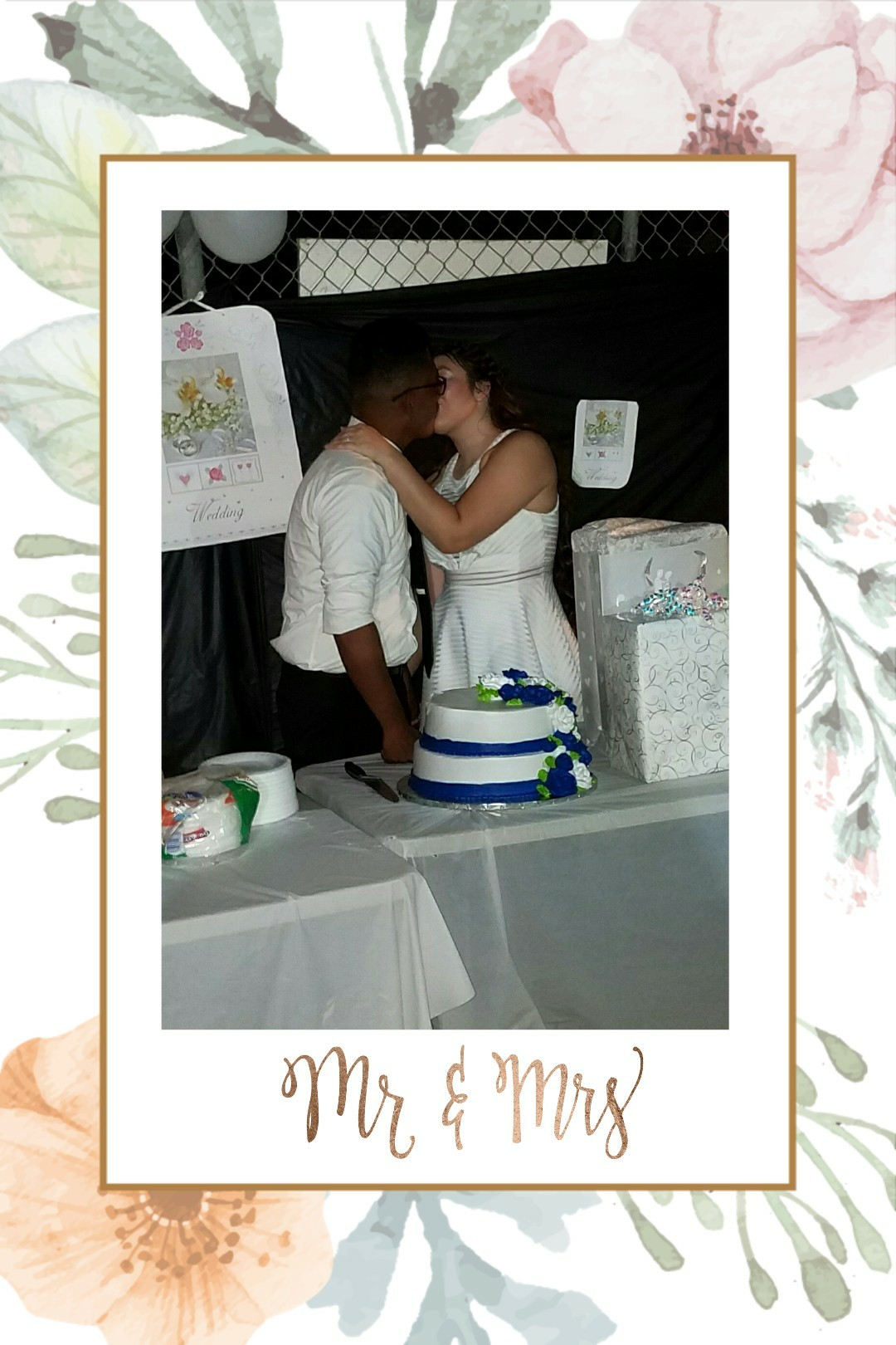 ♧click♧ i love my husband ♡ i got married ♡  had a last minute party lol actual wedding coming soon♡♡♡ cant wait! also, sorry i have not been on here in forever. been preettyyy busy and piccollage isnt really working...