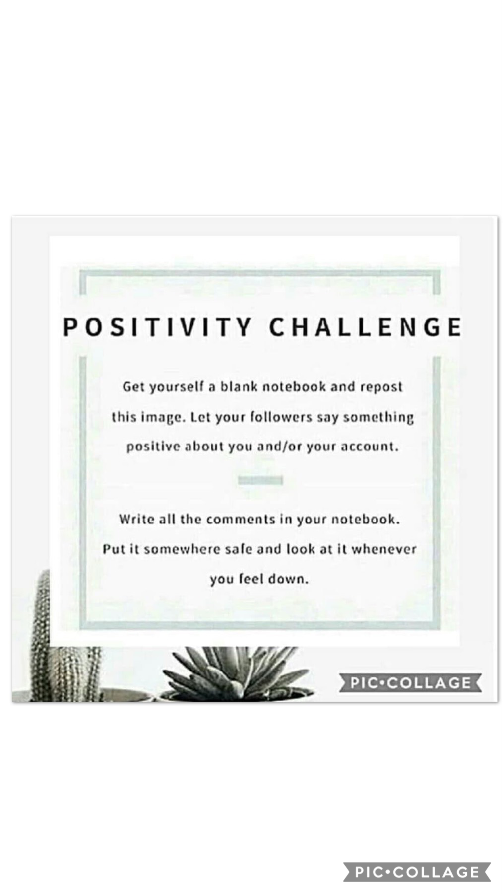Tap>👍❤️  Can't remember where I got this from, oh well!  Say something positive and like this collage! Ask me questions! Repost this on your account and see what people say!  1/15/19