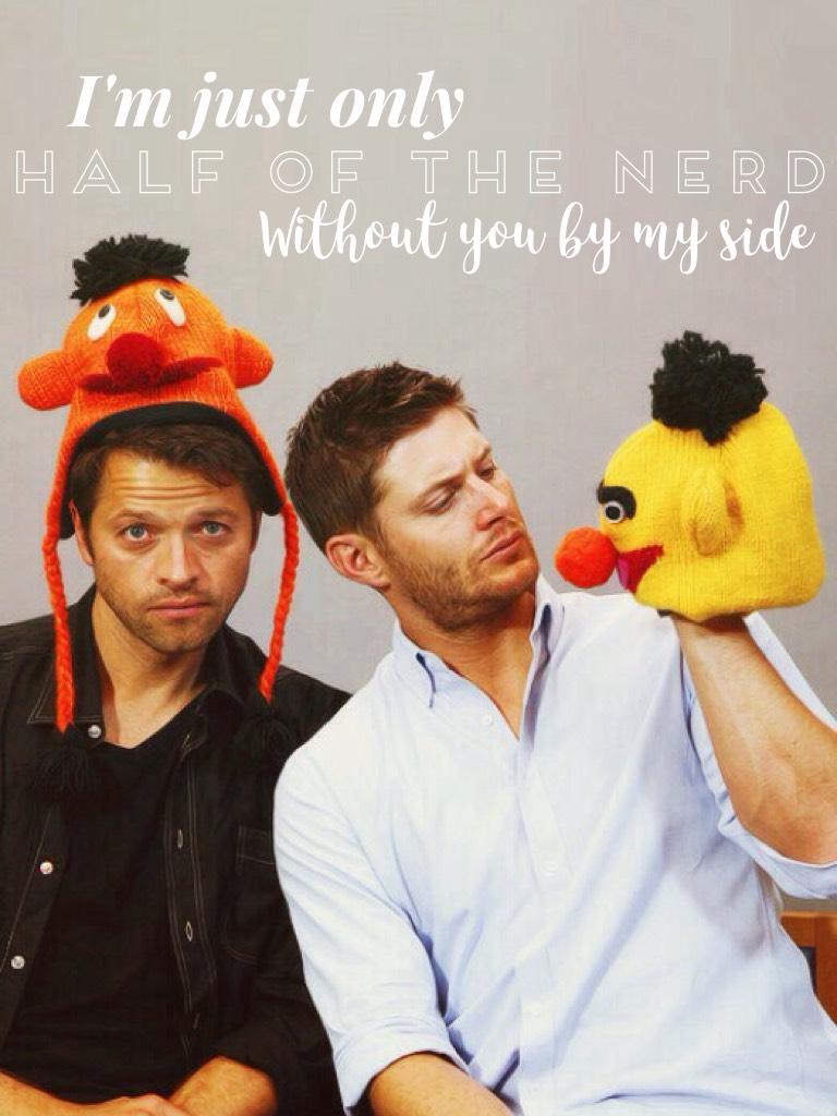 Jensen and Misha😊