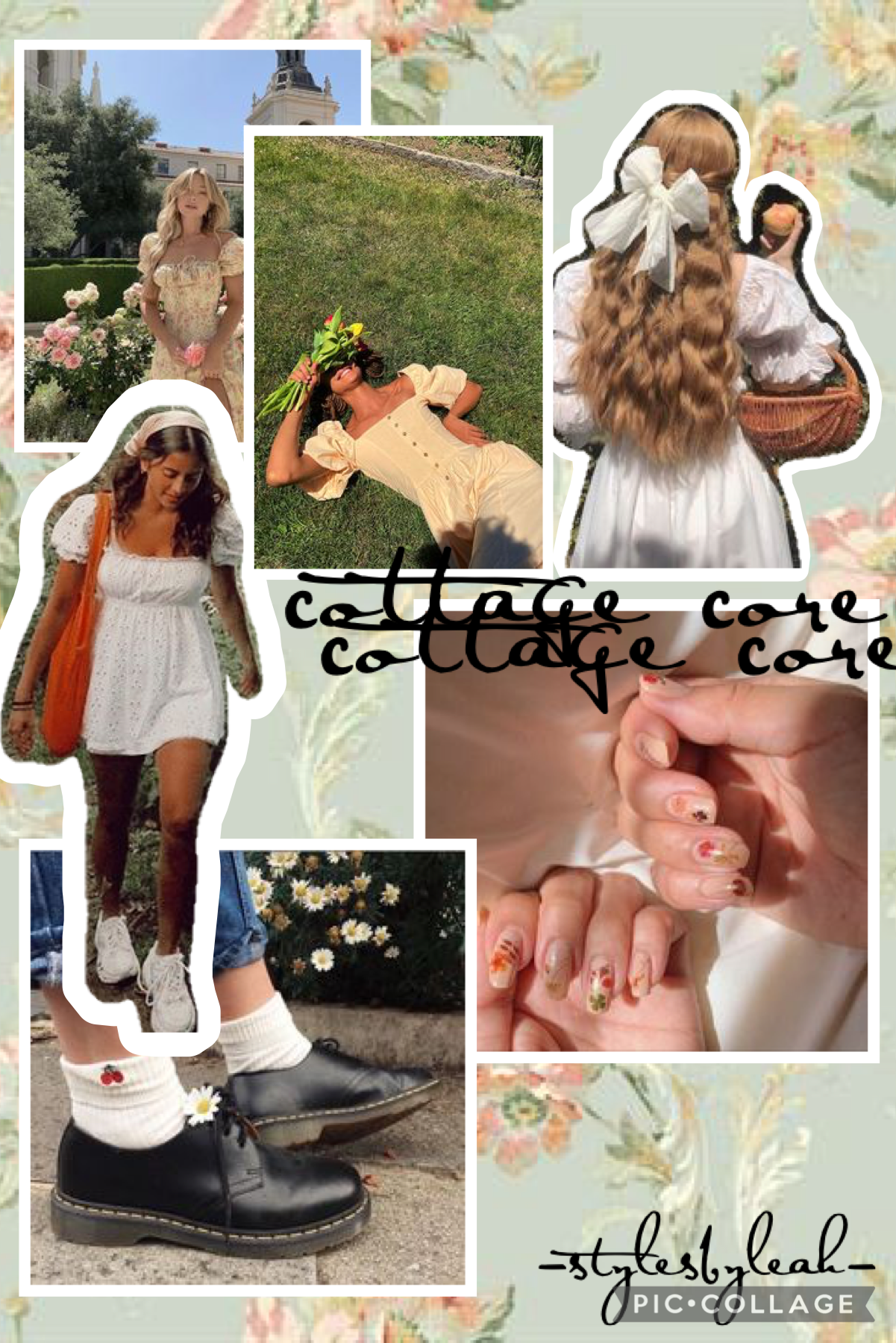 cottage core- requested by teenagetipsforgals