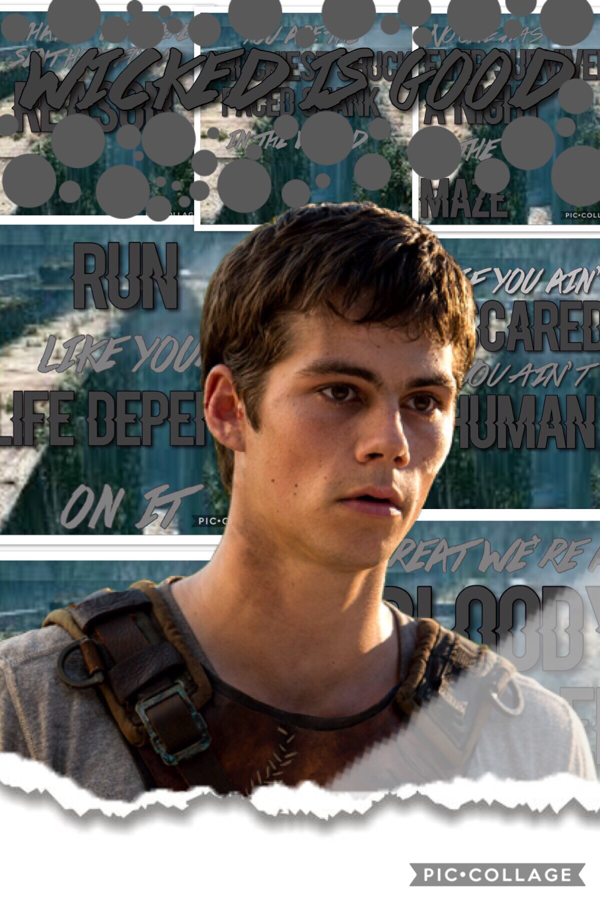 🖤tap🖤 OOF!!!  I.have.so.much.to.say!!!! So sorry for not posting, I've had nothing to post and this kinda sucks but I had to cuz  *sucks in air* THE MAZE RUNNER IS AMAZING!!!!!!!!!! I talked about it on my second account (follow it @ Rosie__gold__talks )