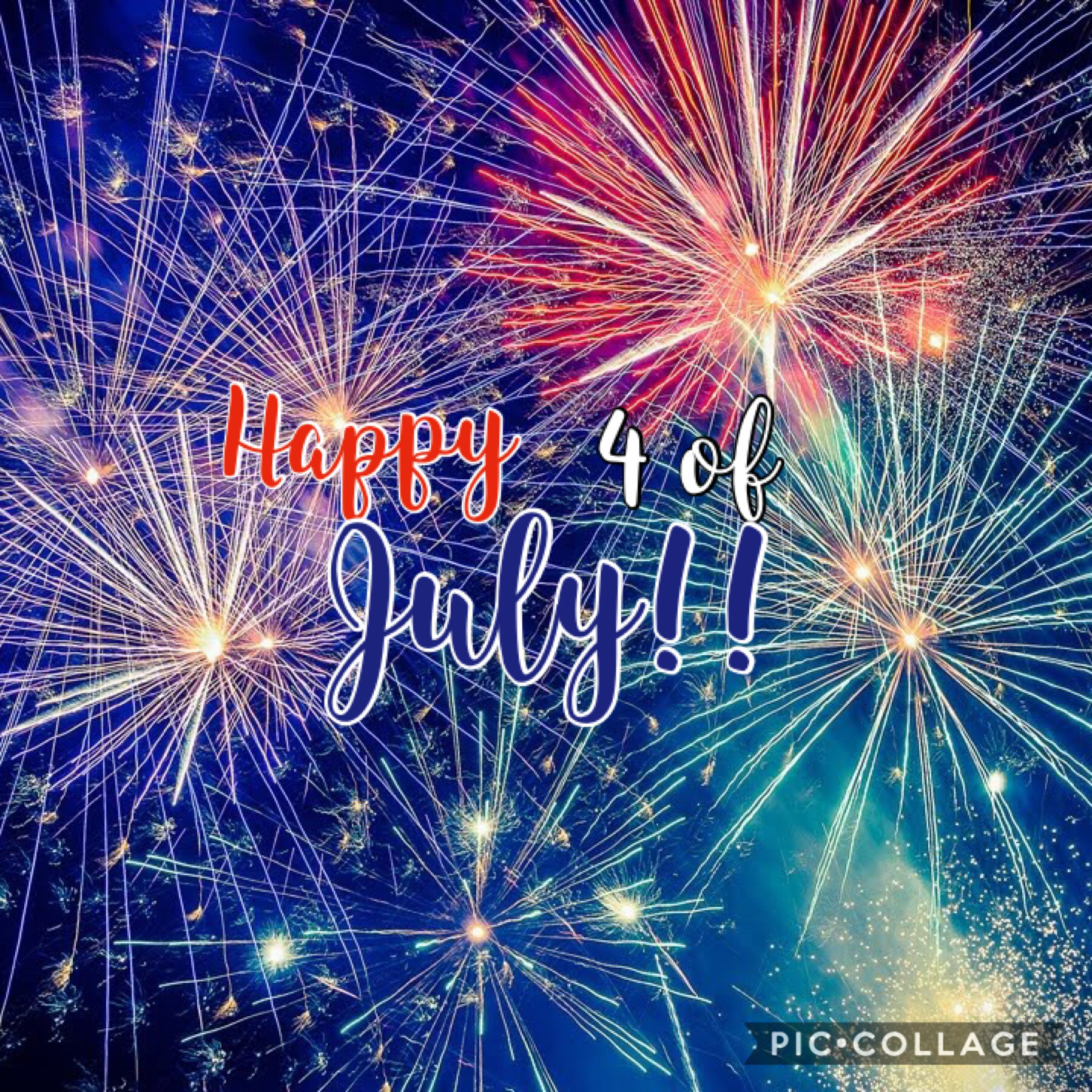 Hope you guys have a great Fourth of July!! I love you all soo much!! 😘