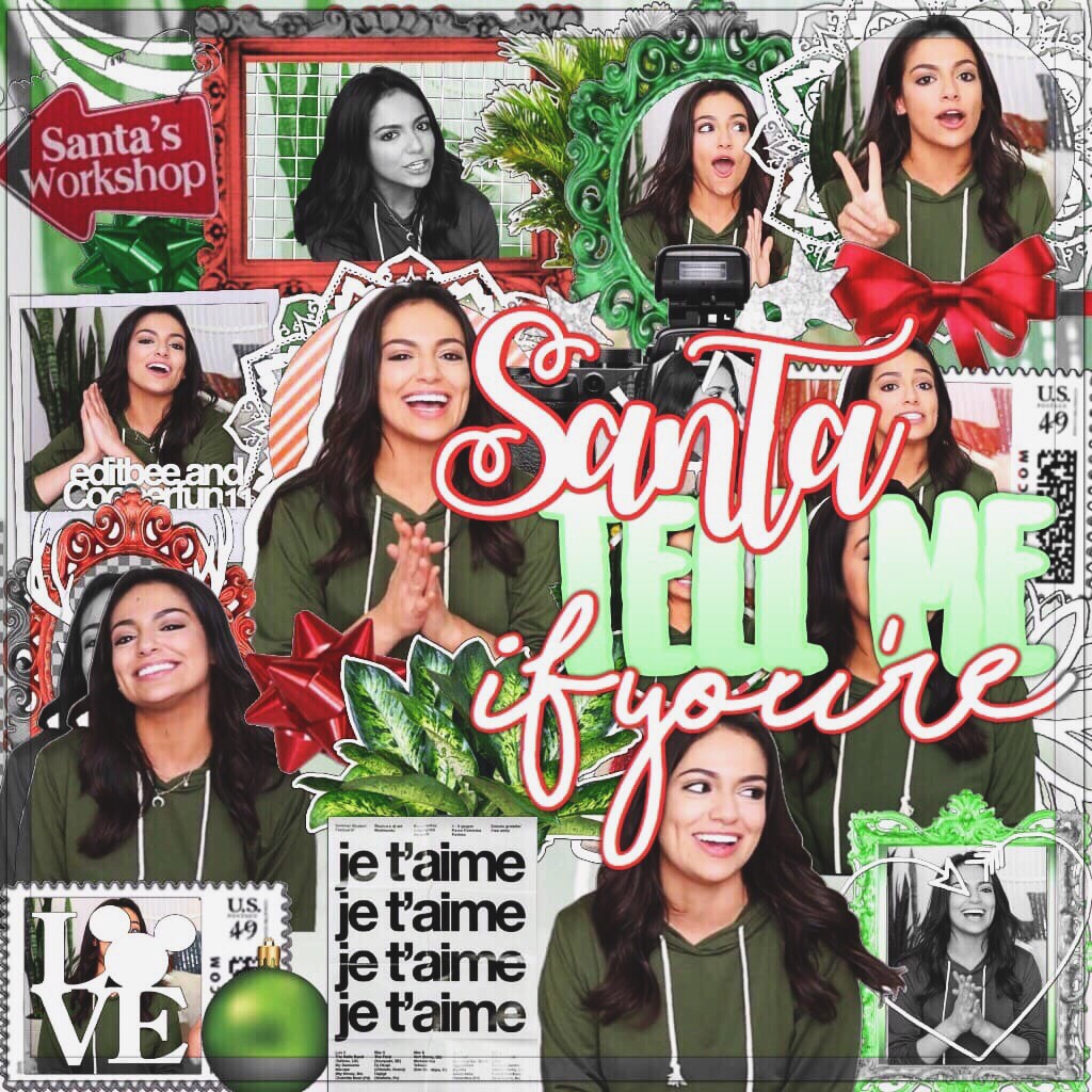 🎄tap here cause you slay🎄 🍩If you can't see this edit, just visit the website and search my user! This is A COLLAB WITH THE QUEEN @editbee! (lol idk how many we've done now😂)🍩 ⭐️Quick Christmas collab anyone😂?⭐️