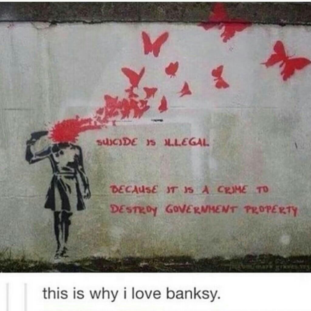 banksy graffiti quotes - 900×900