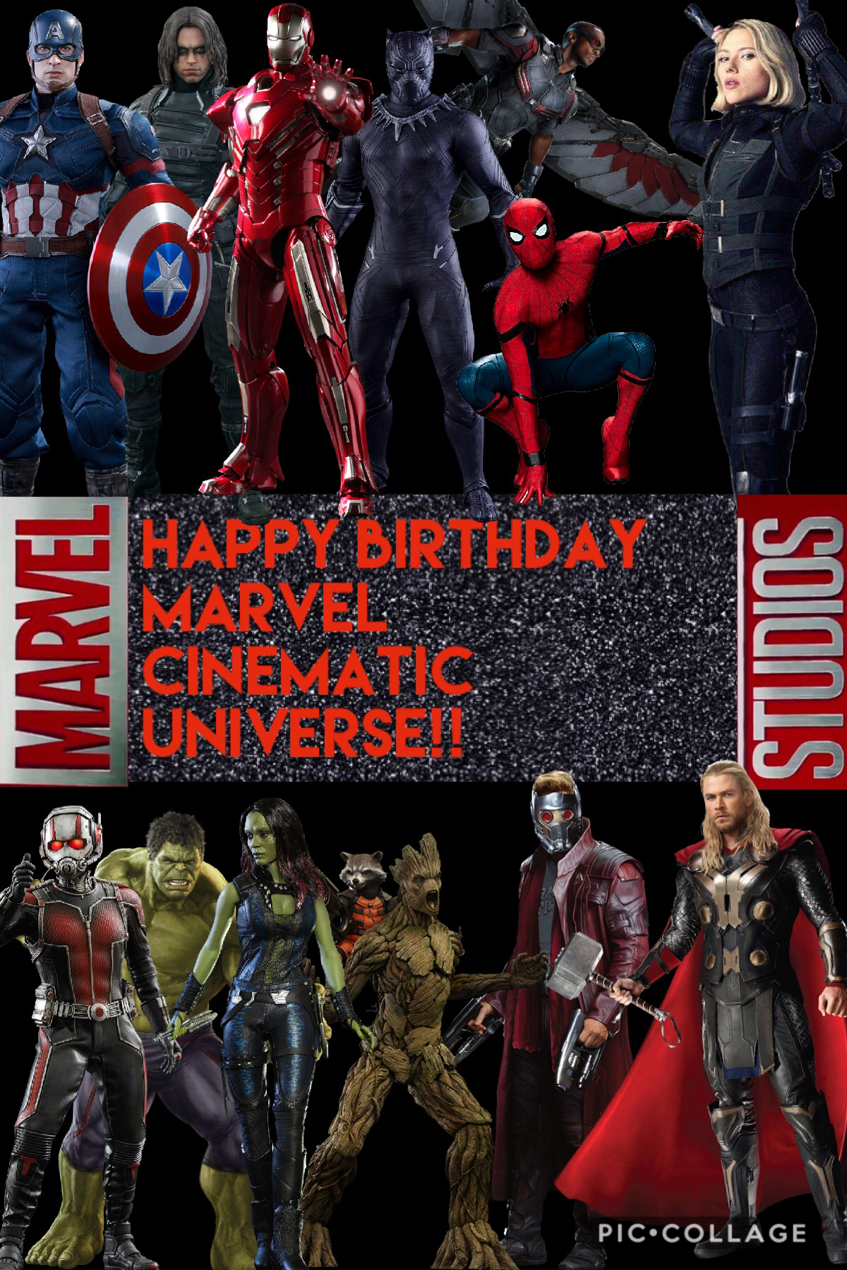 I've loved marvel ever since I can remember and I can't believe it's already been 10 years since the beginning of the MCU. Marvel will forever always be one of my favourite things on earth🙌🏻🙌🏻 HAPPY BIRTHDAY!!!!💫🔥🙌🏻💫😂😂😢😘😢❤️❤️💖💖💗