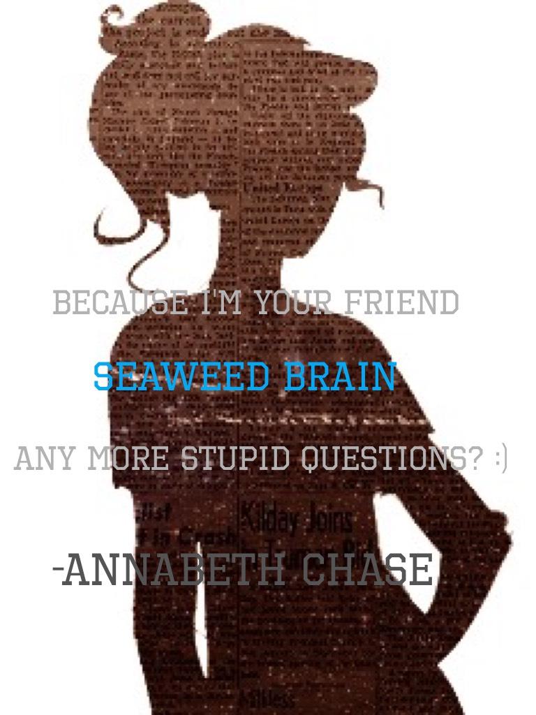 -Annabeth Chase