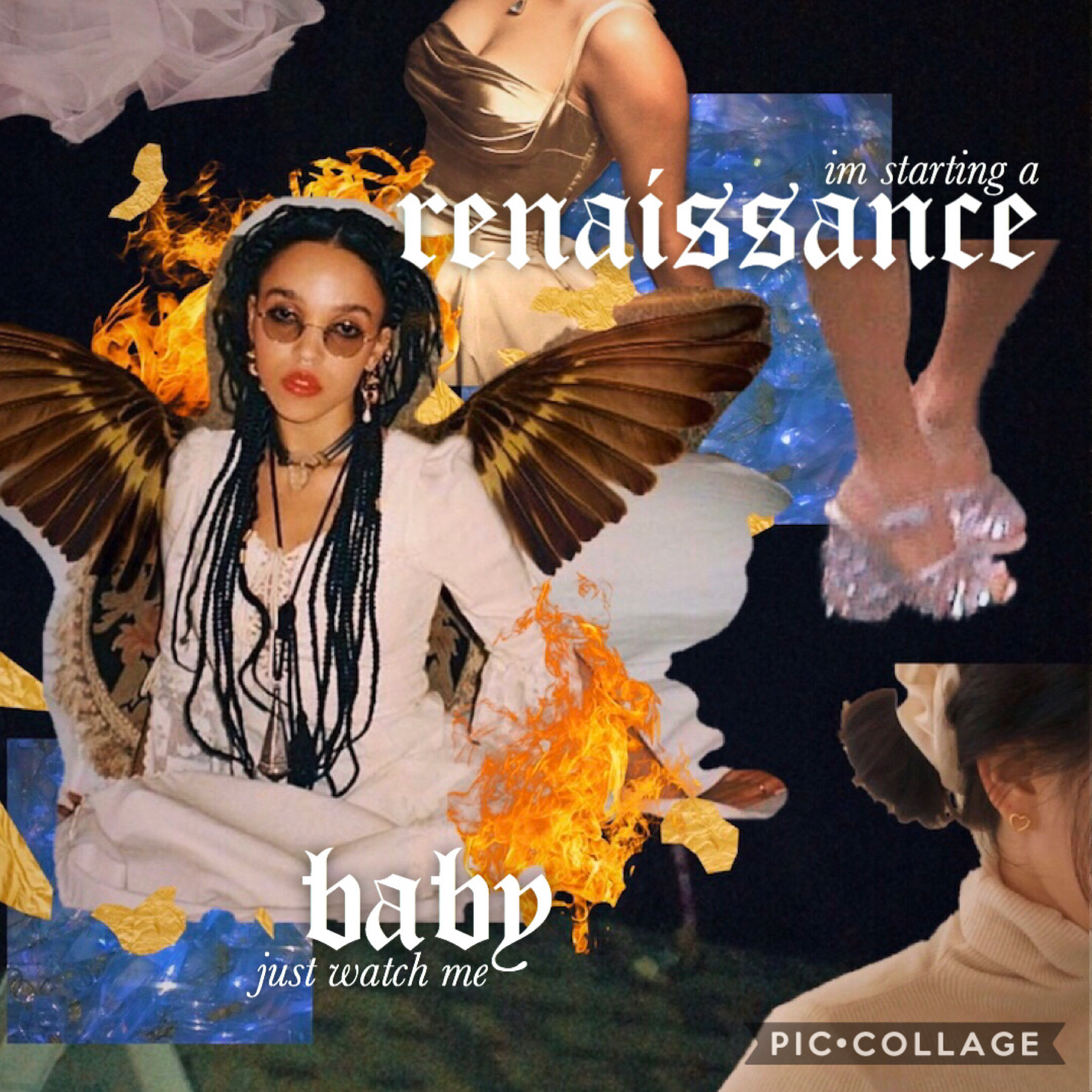 🔥requested by...🔥  @braindead_  this is a birthday edit for avery of fka twigs🎂  drop ur birthdays so i don't miss any of them or if you guys want a custom collage😅🎂  brady, becca, and chloe if u guys want one lmk💗