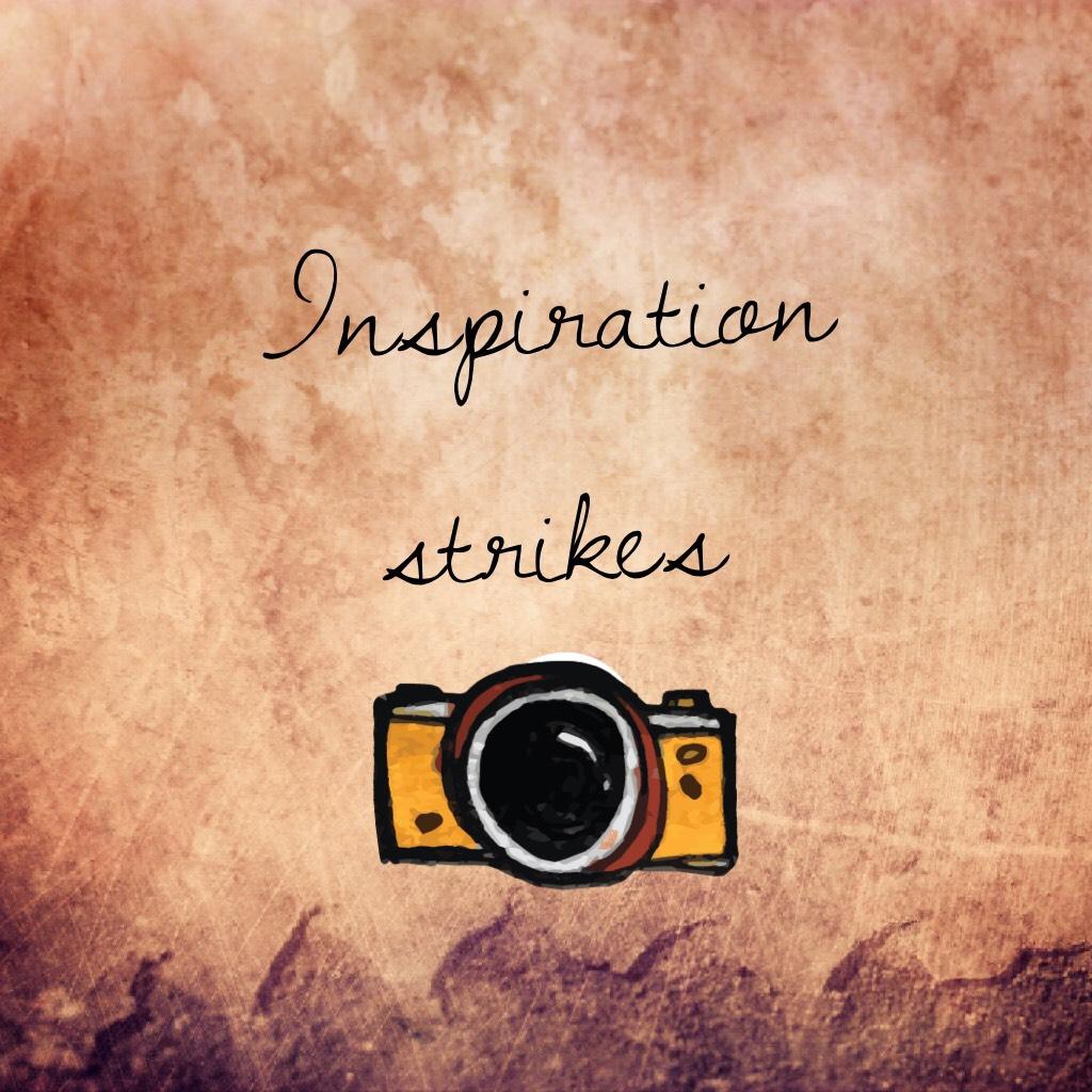 Inspiration strikes🖤