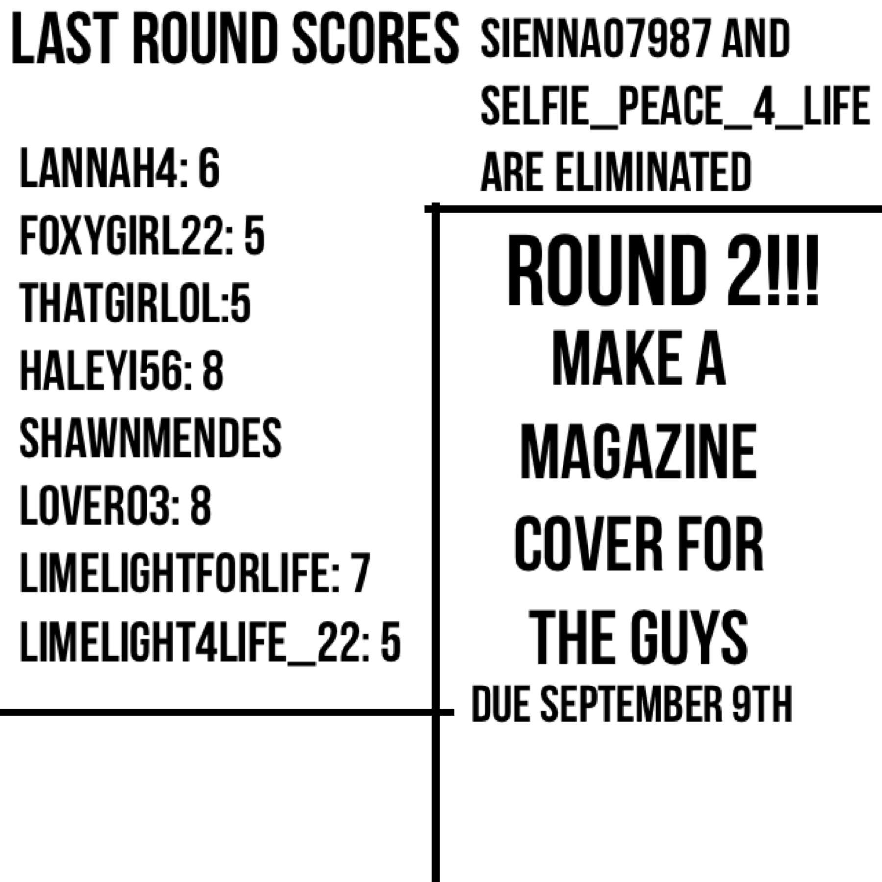 Round 2!!!