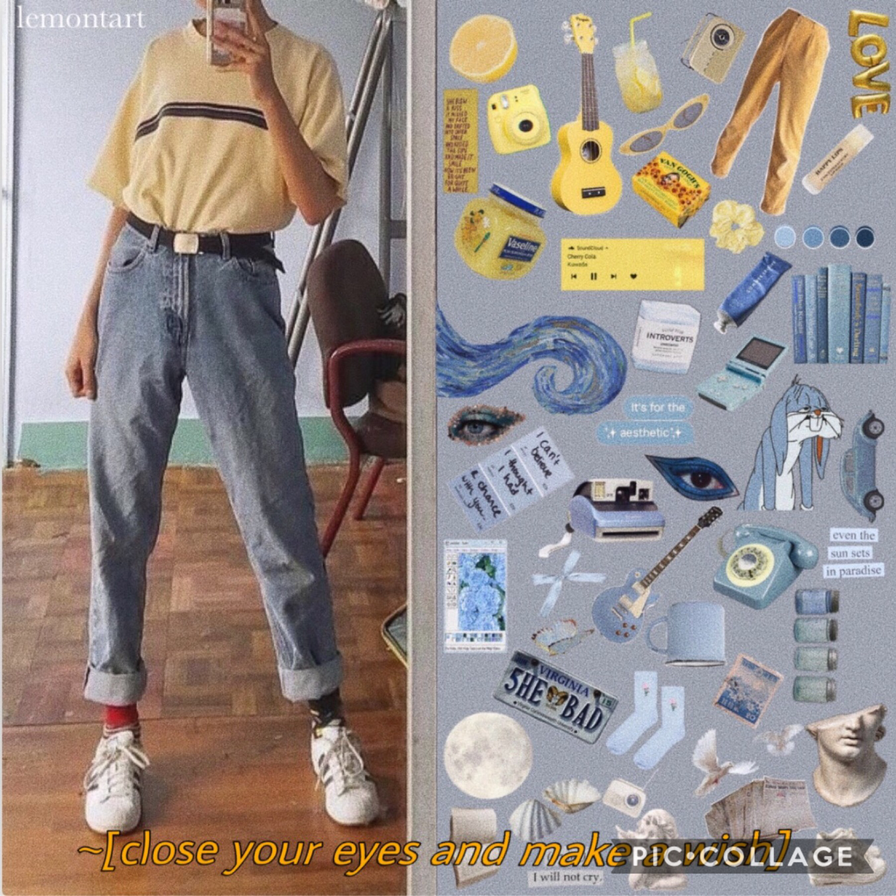 2019.07.07 (tip tap) what's up my dudes? i now present to you my trash collage that i whipped up today. update me on your life :) it's been awhile, and i want to know what's going on with you wonderful people