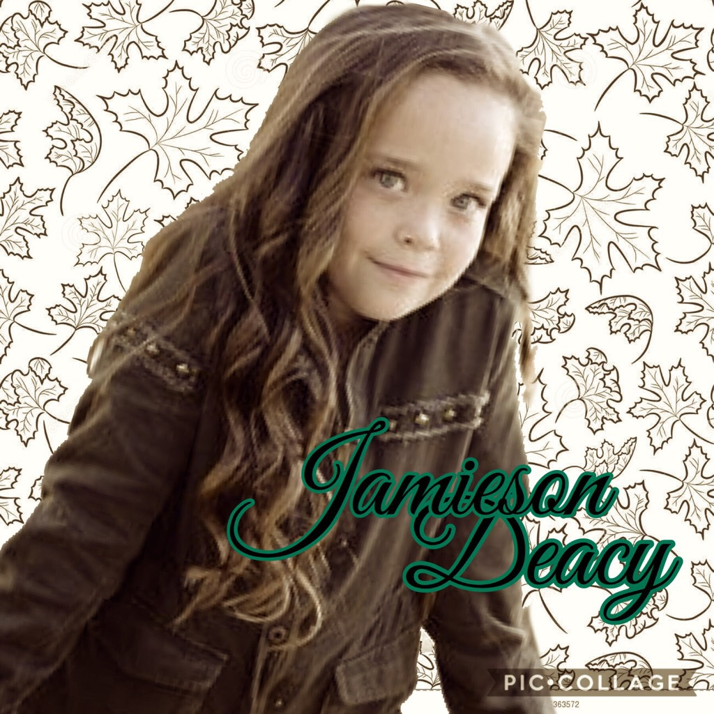 Click Jamieson is a junior at OCPAA she is competing age nine