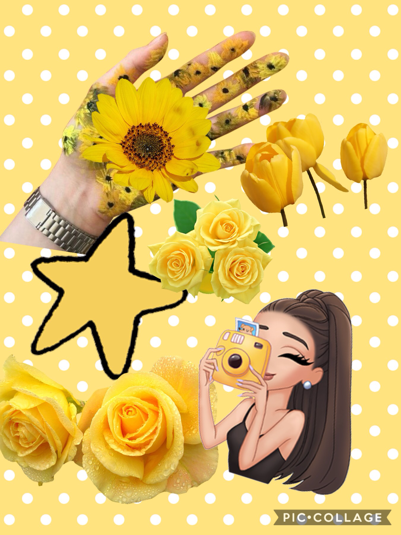 Hey guys it's aesthetic_ashleigh and the this is a yellow pic follow me ☺️😊