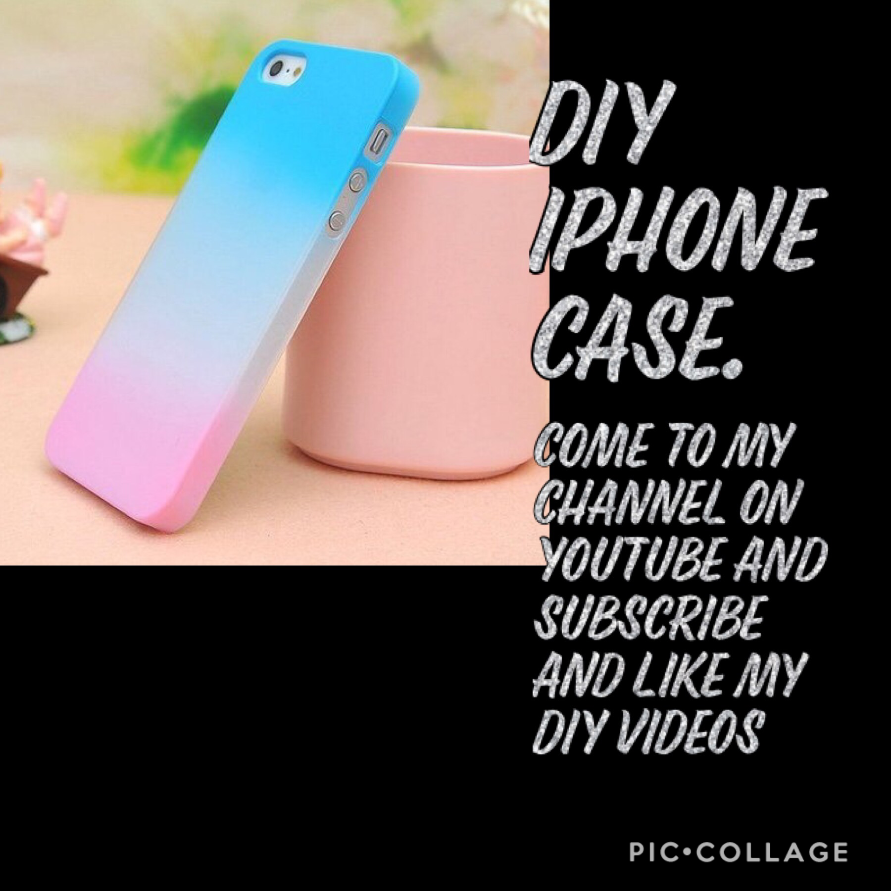 SUBSCRIBE TO MY DIY CHANNEL AND LEARN HOW TO DO DIYS