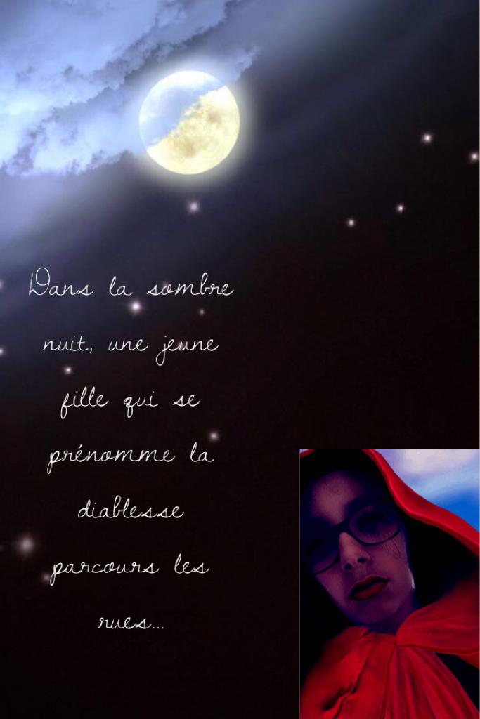 La diablesse de la sombre nuit...