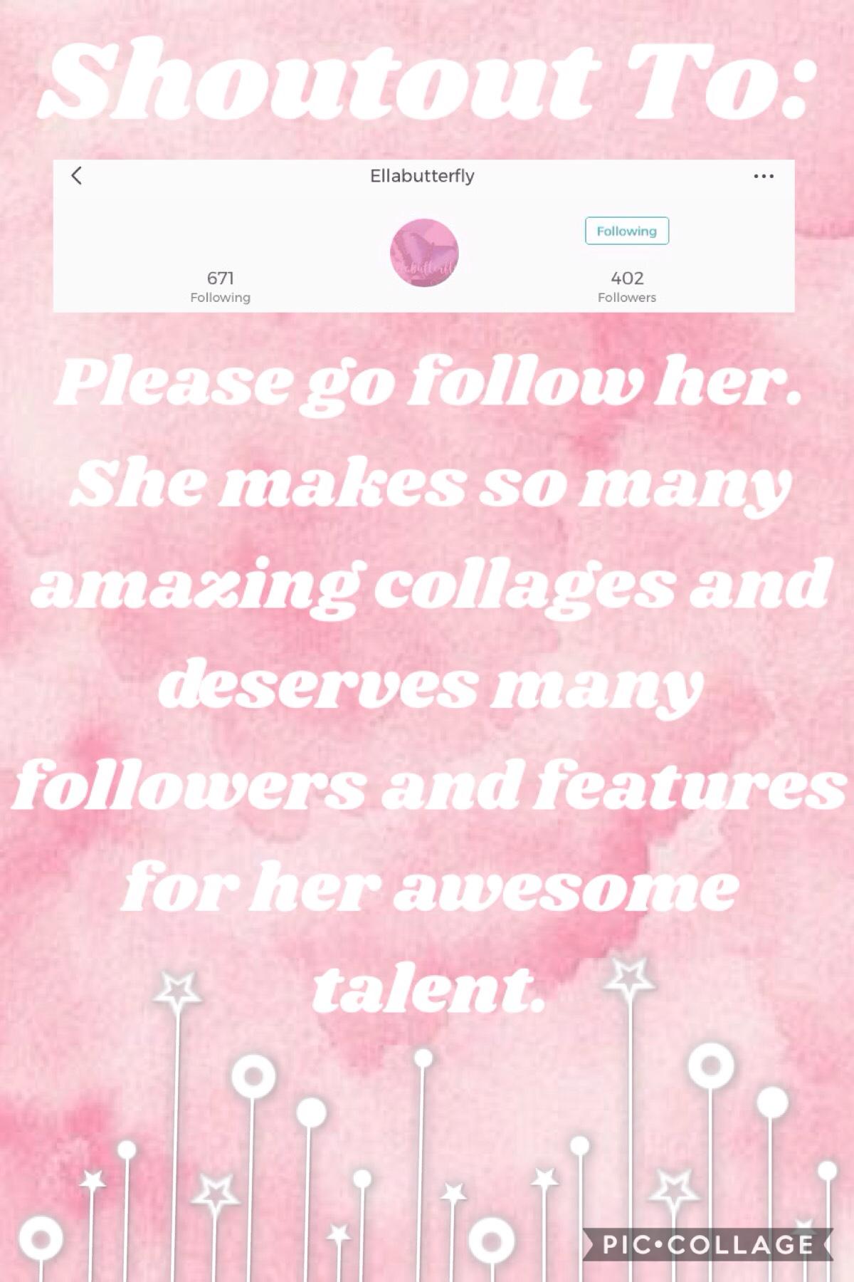 Yay!! Go follow her.